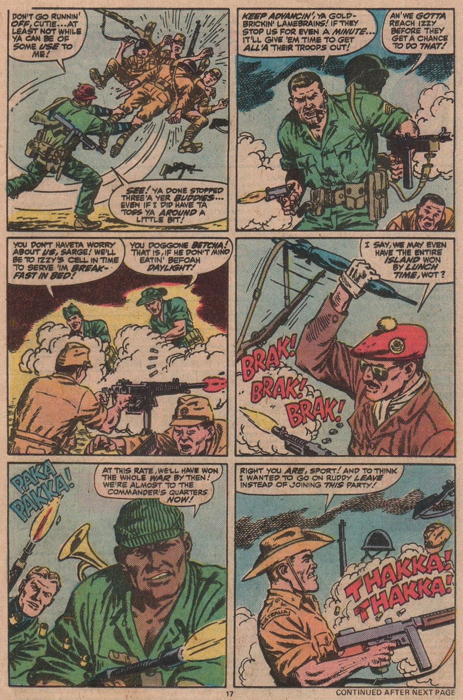 Read online Sgt. Fury comic -  Issue #145 - 19