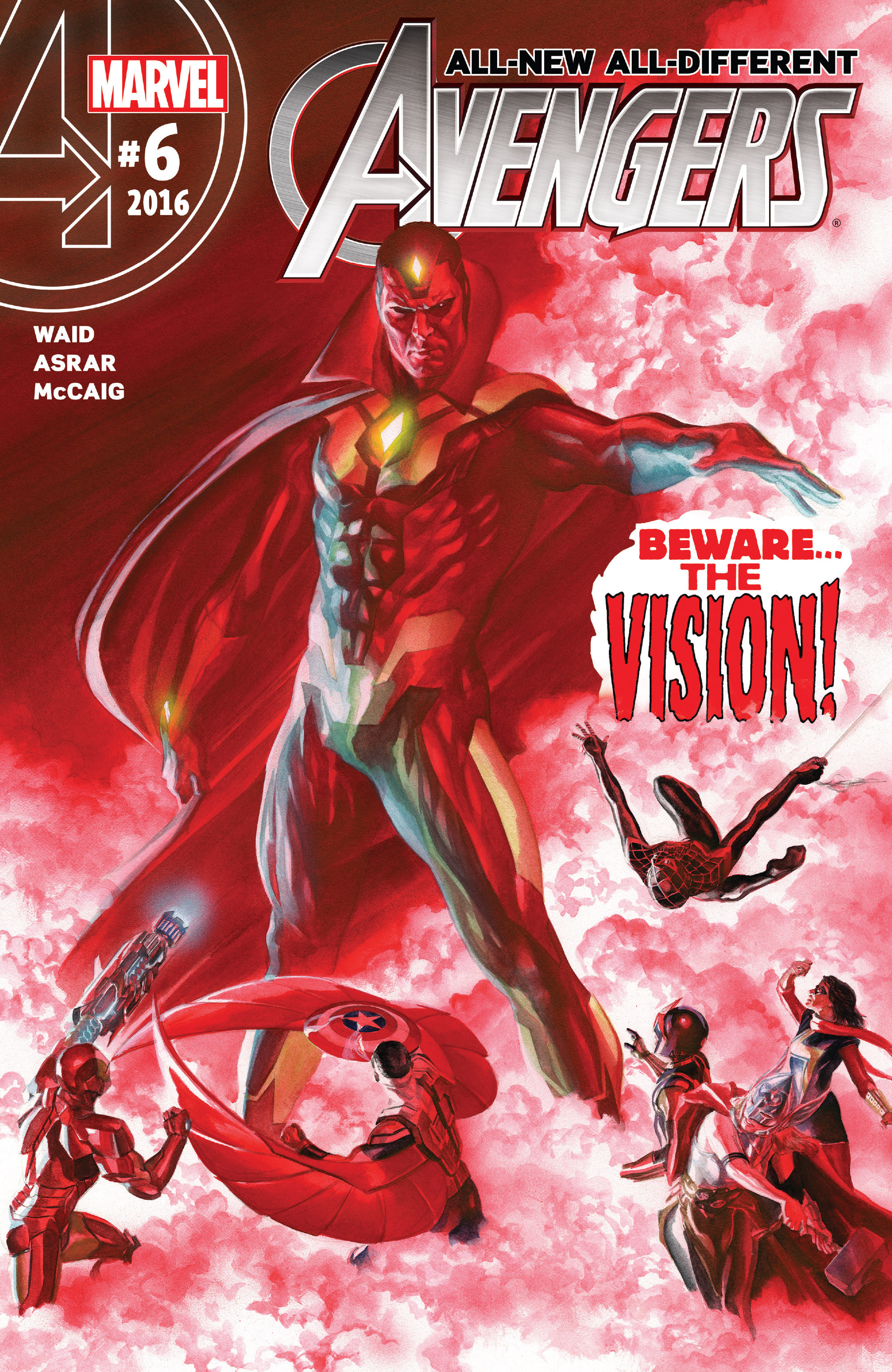 Read online All-New, All-Different Avengers comic -  Issue #6 - 1