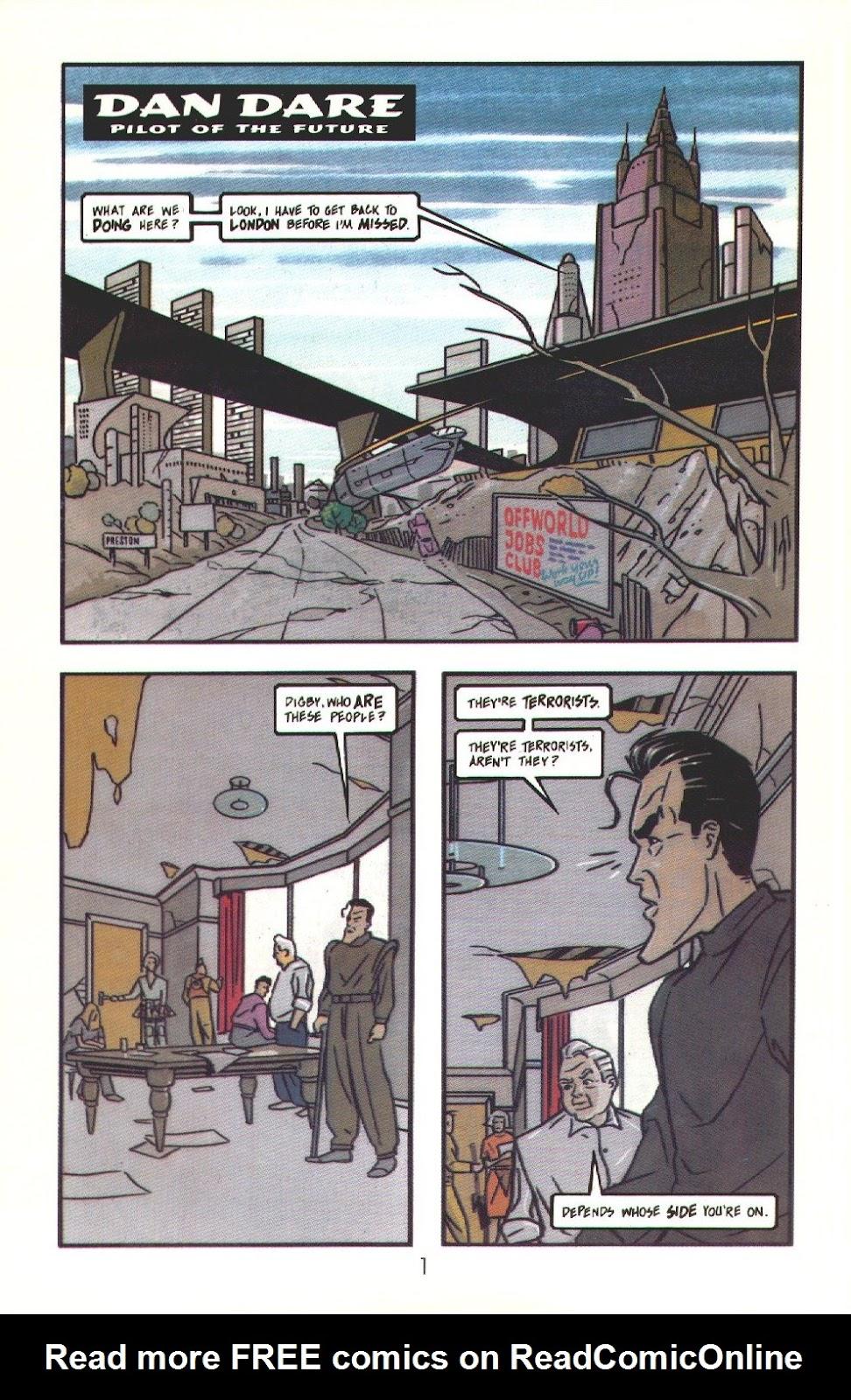 Read online Dare comic -  Issue #3 - 3