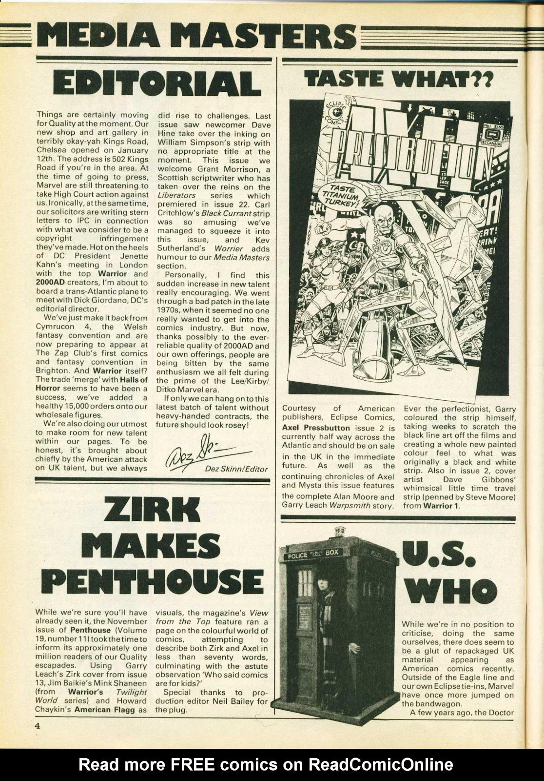 Warrior Issue #26 #27 - English 4