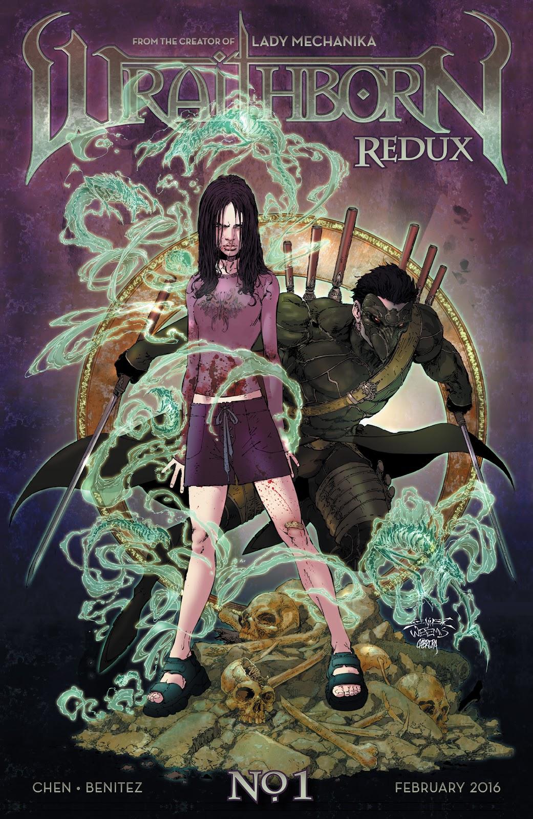 Wraithborn Redux 1 Page 1