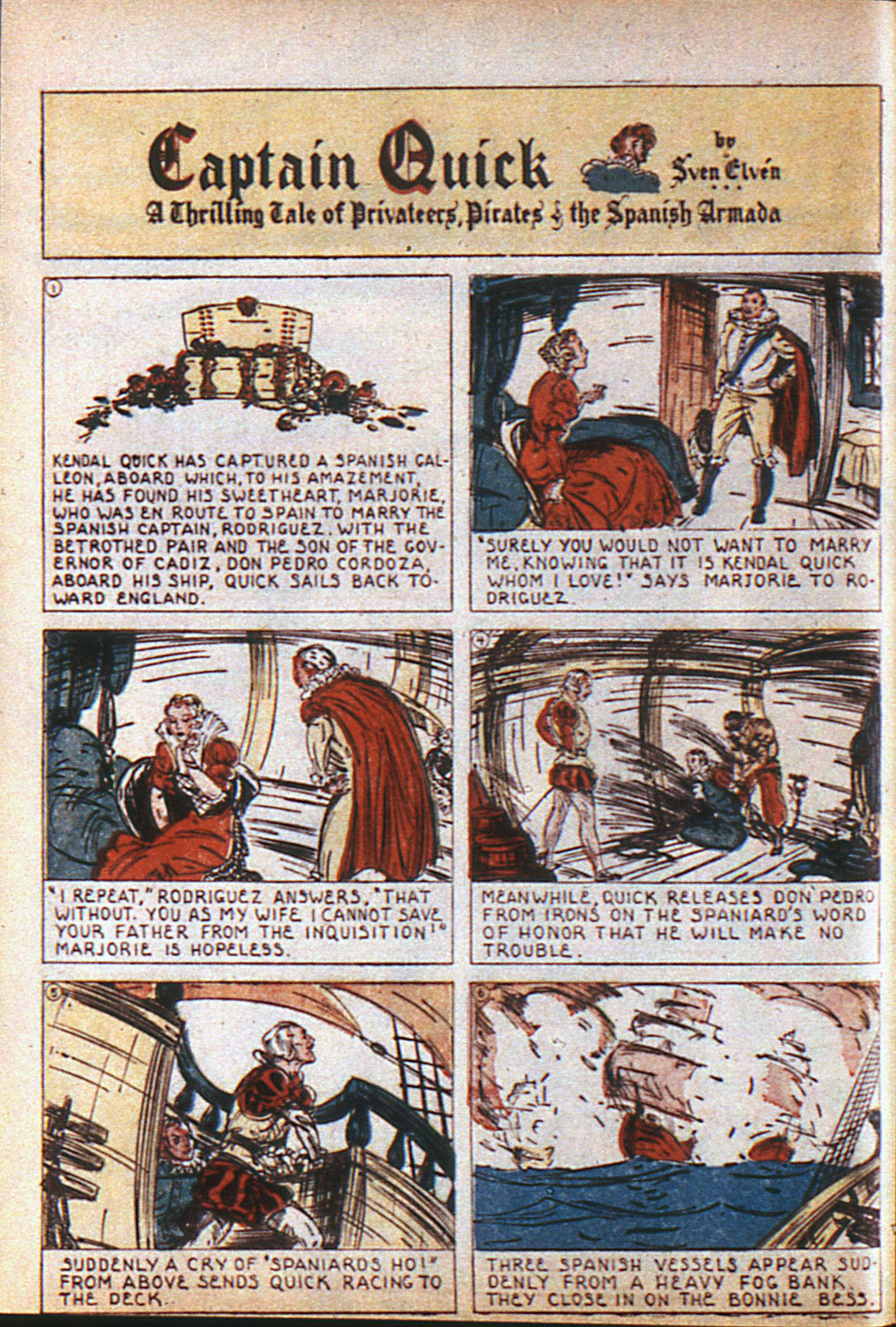 Read online Adventure Comics (1938) comic -  Issue #6 - 13