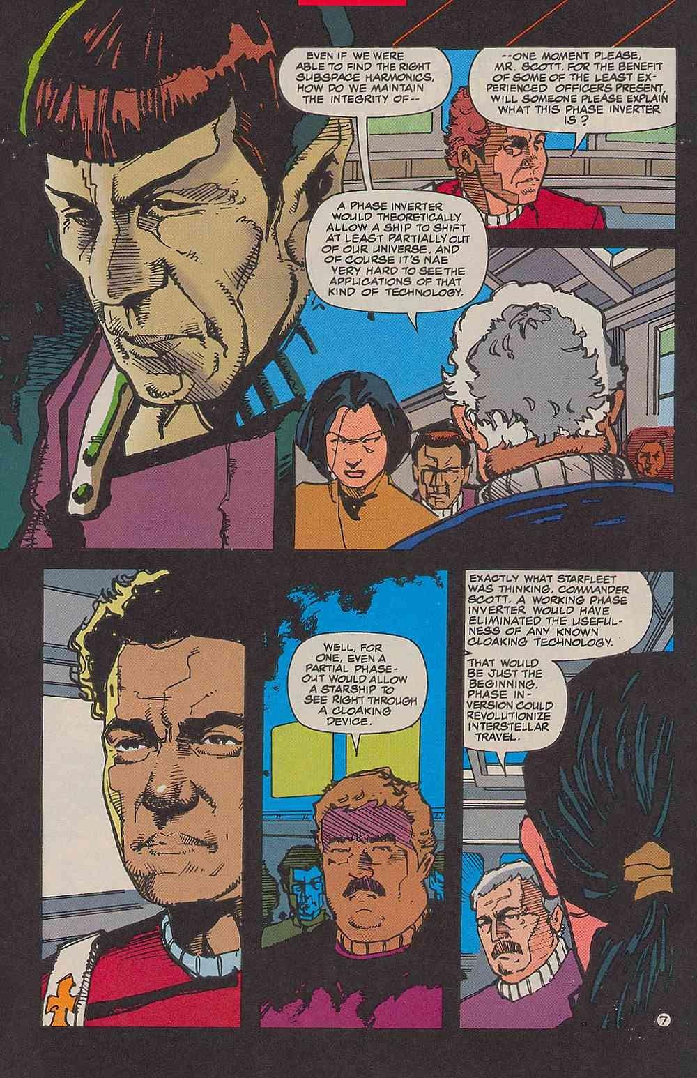 Read online Star Trek (1989) comic -  Issue # _Special 2 - 10