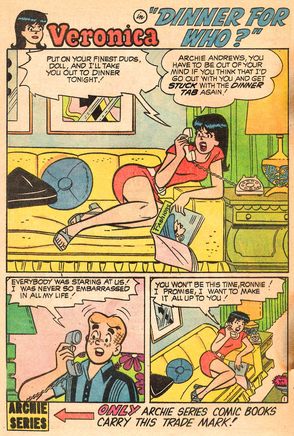 Read online Archie's Girls Betty and Veronica comic -  Issue #185 - 20
