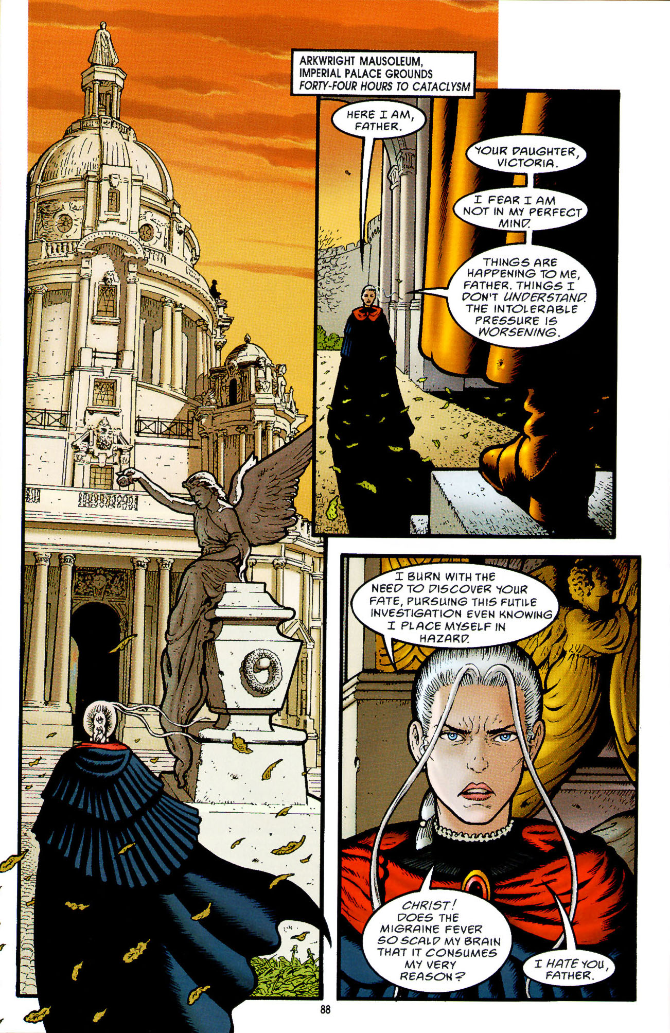 Read online Heart of Empire comic -  Issue #3 - 30