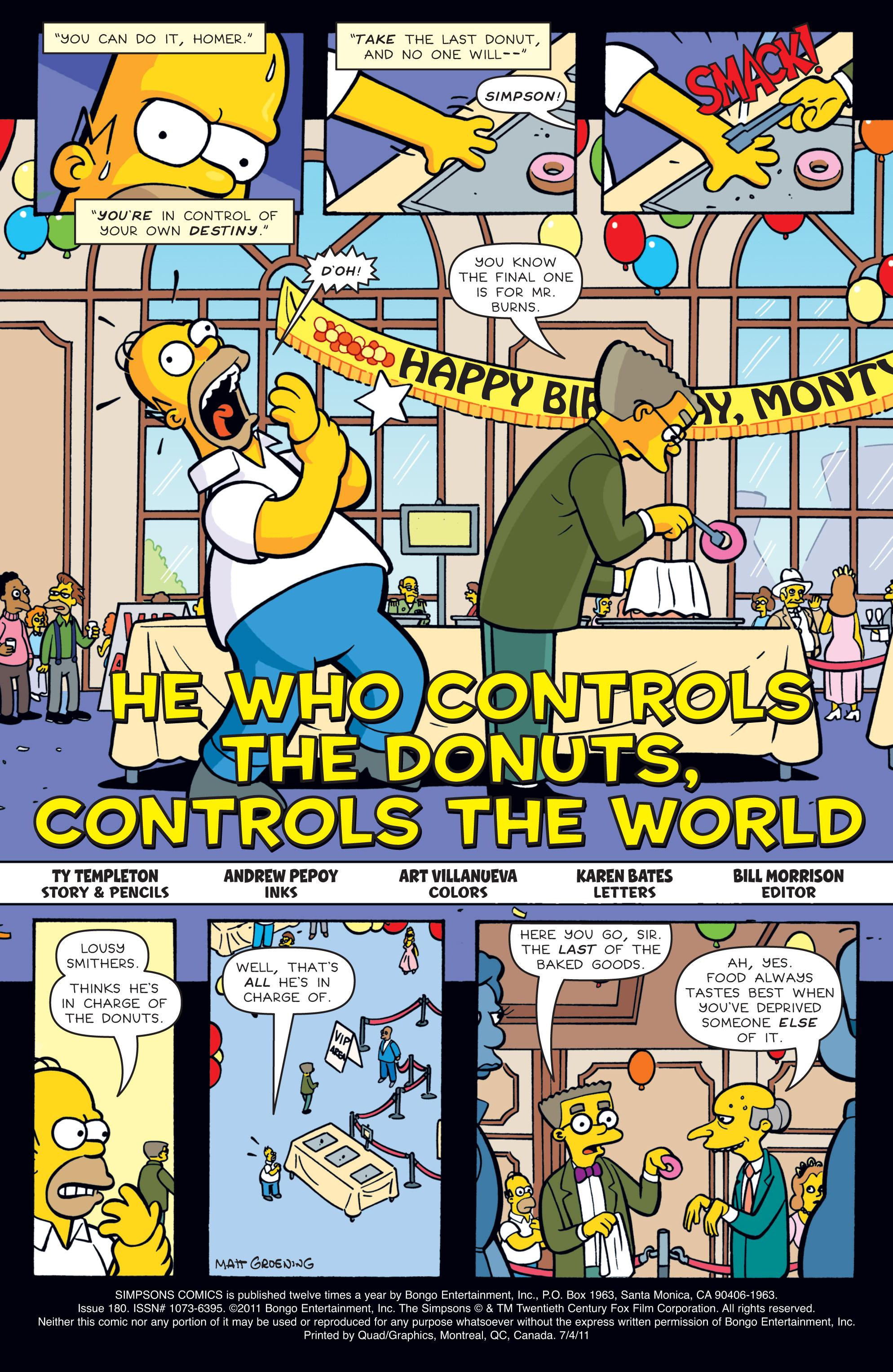 Read online Simpsons Comics comic -  Issue #180 - 2