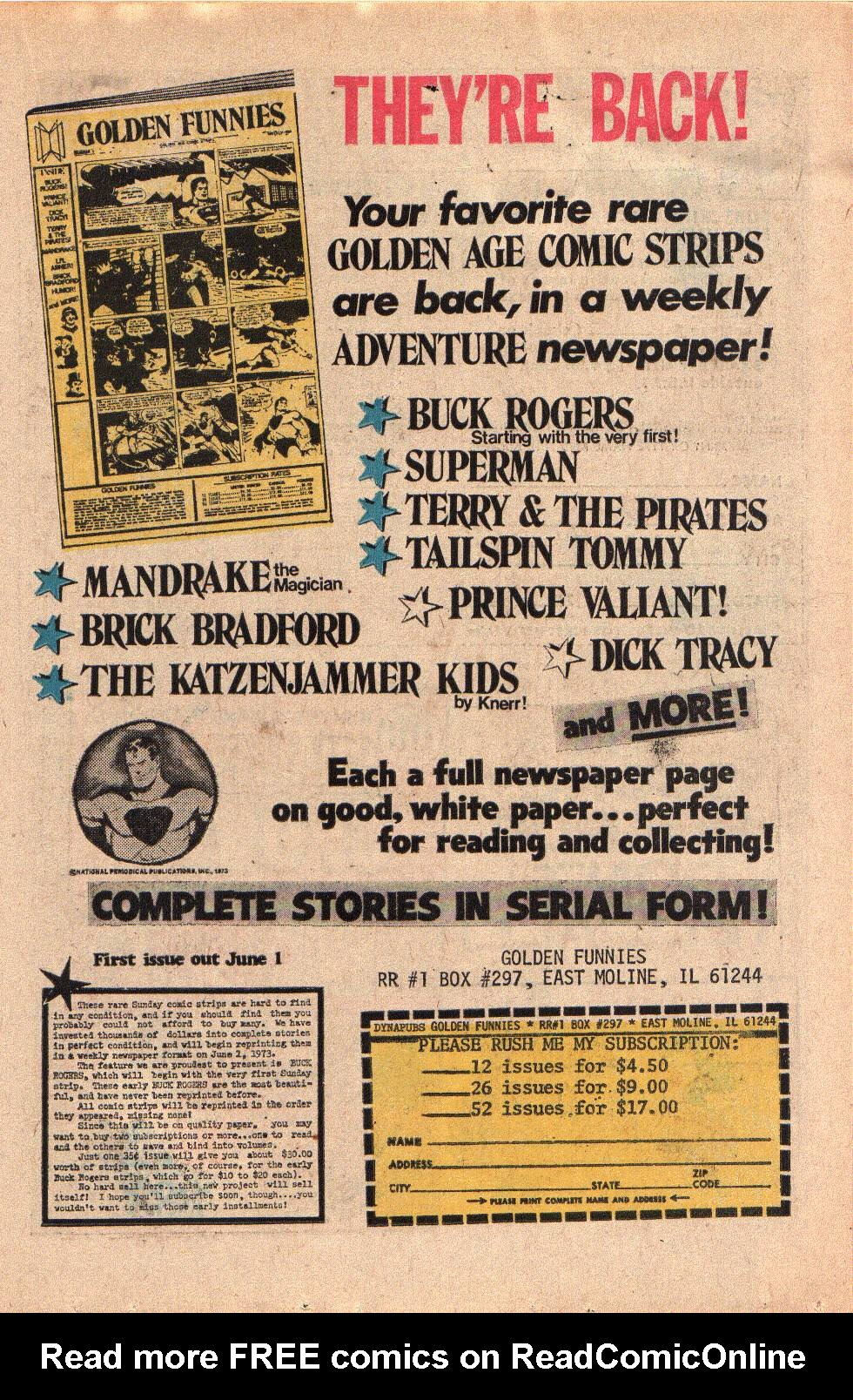 Read online Shazam! (1973) comic -  Issue #6 - 15