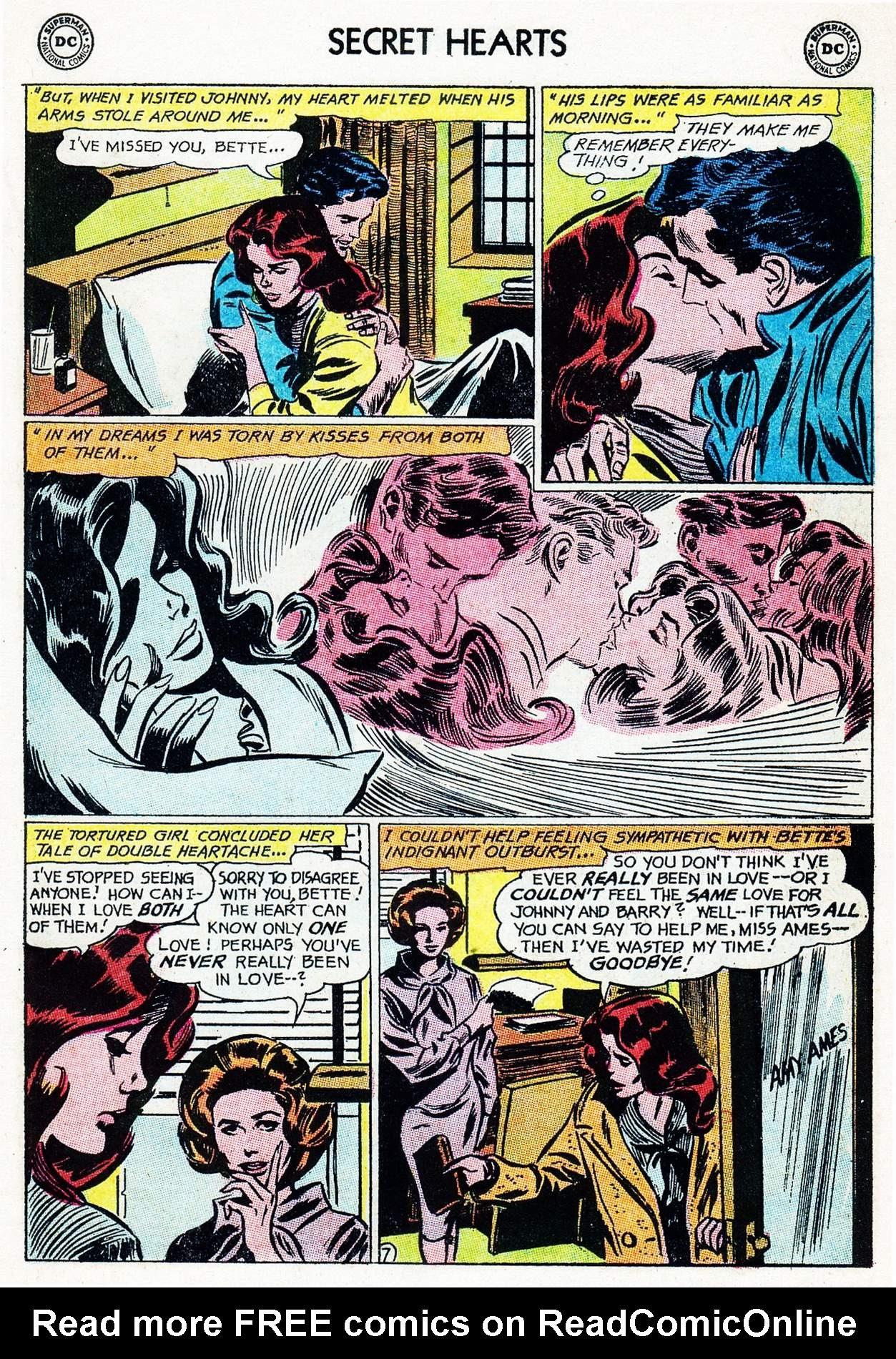 Read online Secret Hearts comic -  Issue #105 - 27