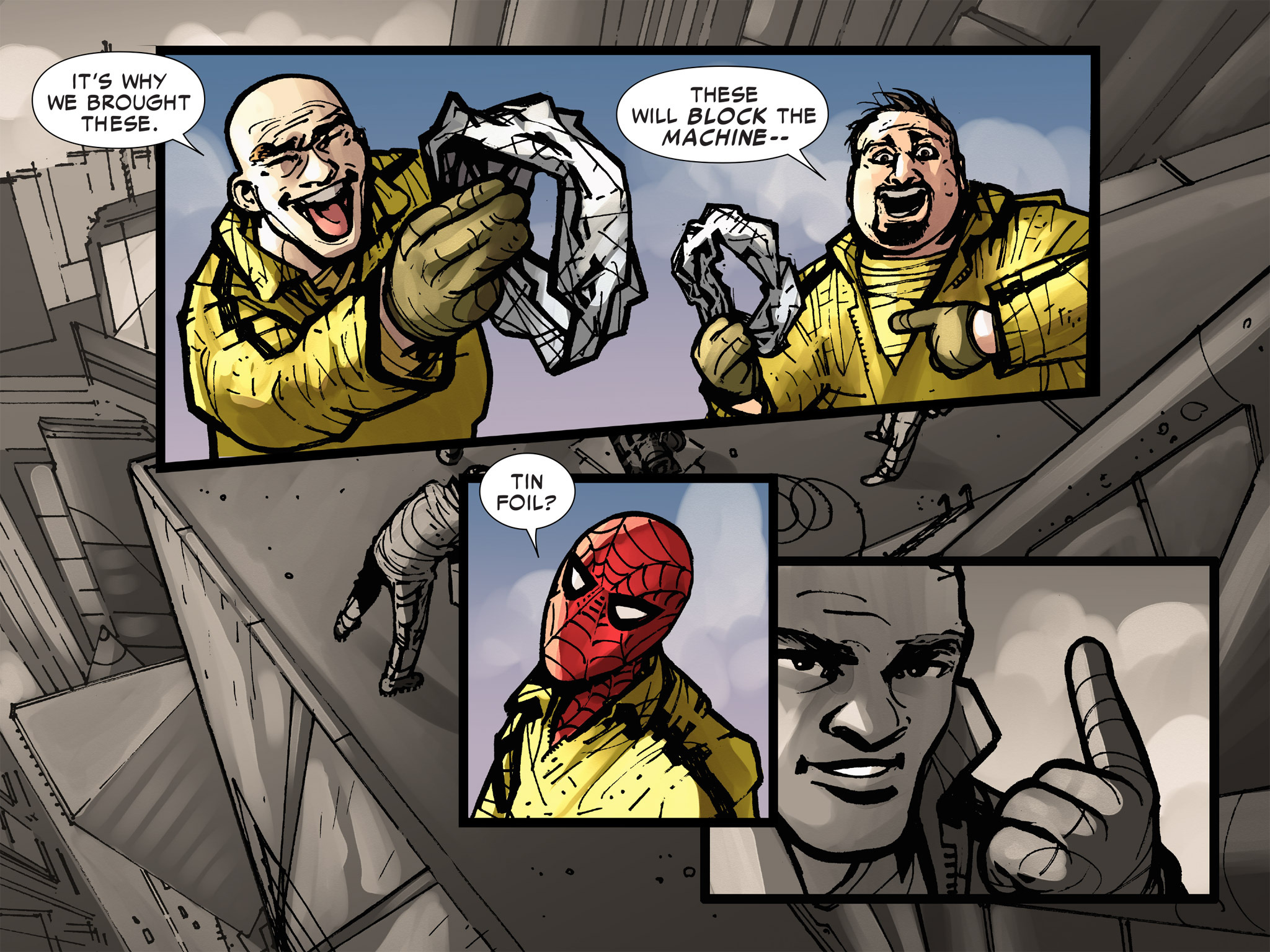 Read online Amazing Spider-Man: Who Am I? comic -  Issue # Full (Part 3) - 139