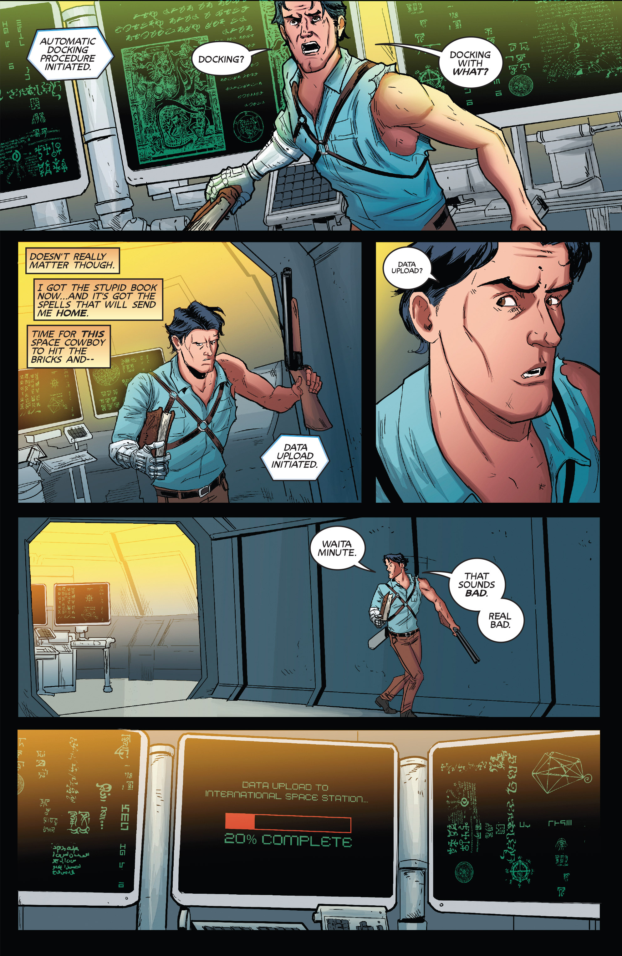 Read online Army of Darkness (2014) comic -  Issue #1 - 22