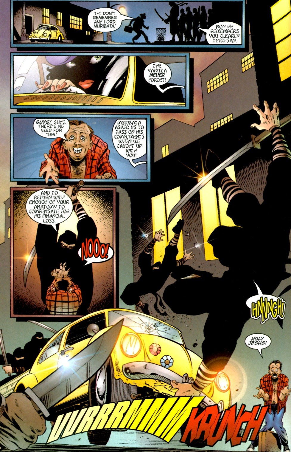 Painkiller Jane vs The Darkness Full | Viewcomic reading comics online for free 2021