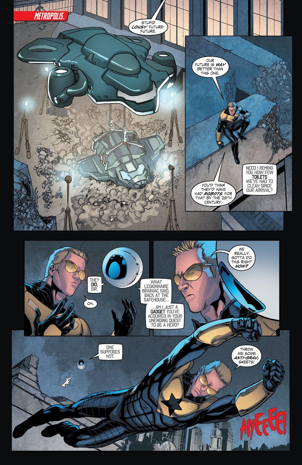Read online Smallville Season 11 [II] comic -  Issue # TPB 4 - 59