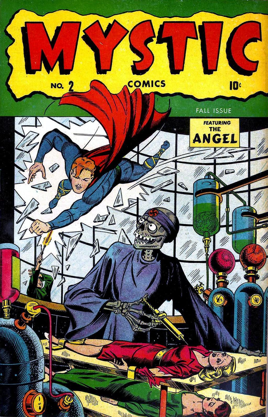 Read online Mystic Comics (1944) comic -  Issue #2 - 1