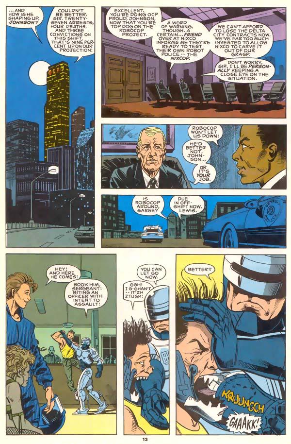 Read online Robocop (1990) comic -  Issue #1 - 11