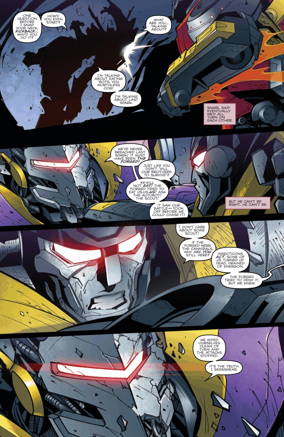 Read online Transformers Prime: Beast Hunters comic -  Issue #2 - 8
