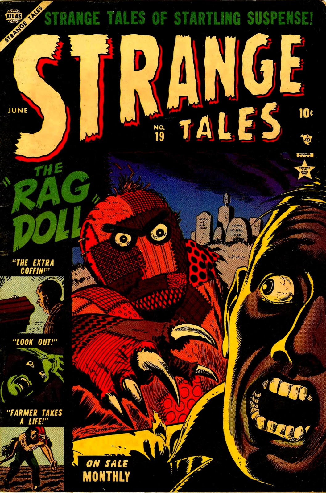 Strange Tales (1951) issue 19 - Page 1