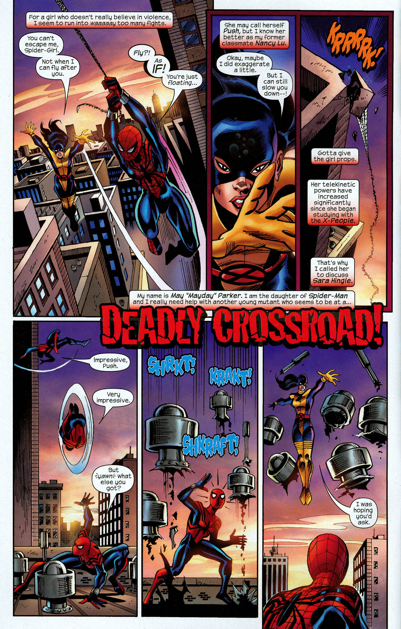 Read online Amazing Spider-Girl comic -  Issue #22 - 4