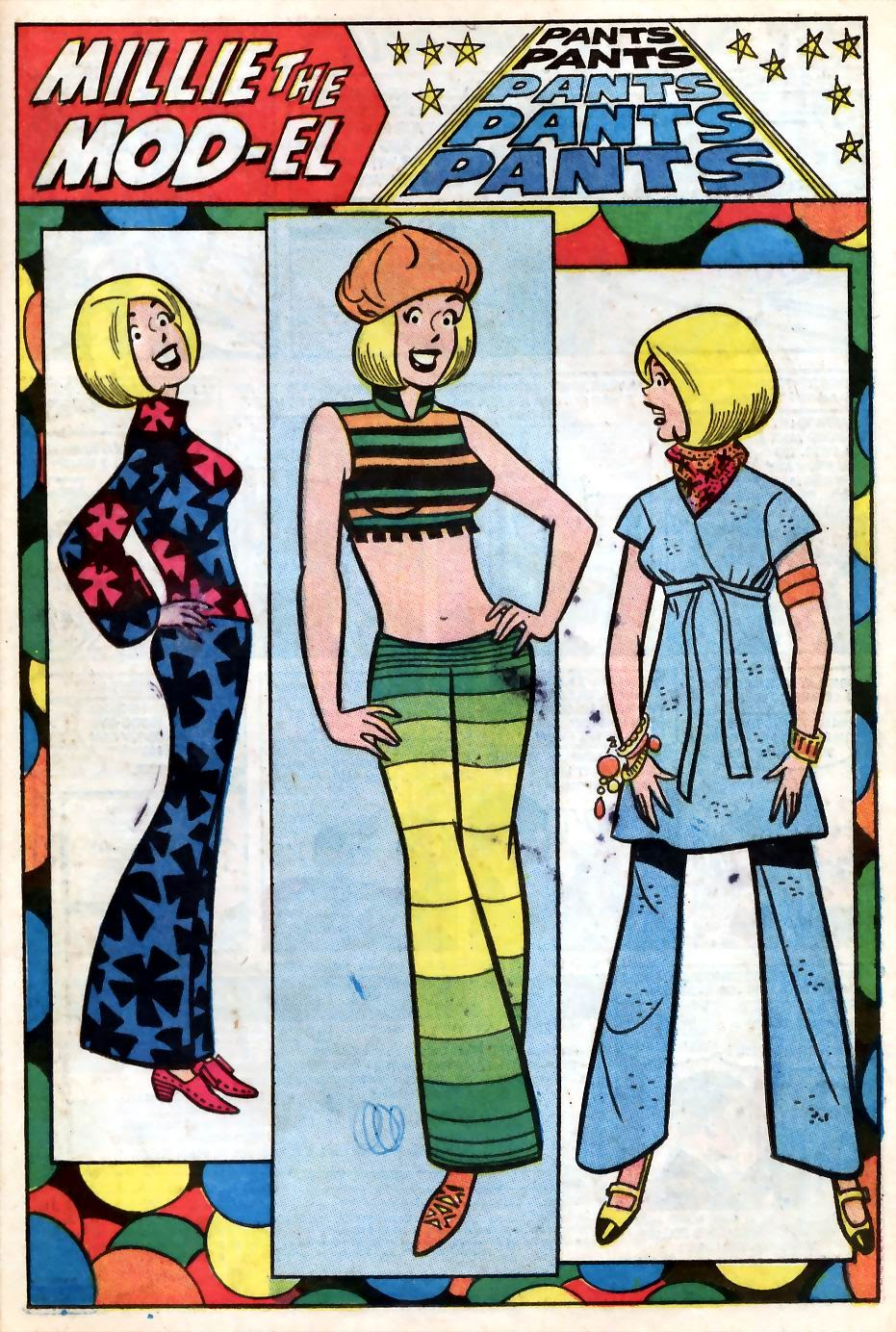 Read online Millie the Model comic -  Issue # Annual 7 - 36