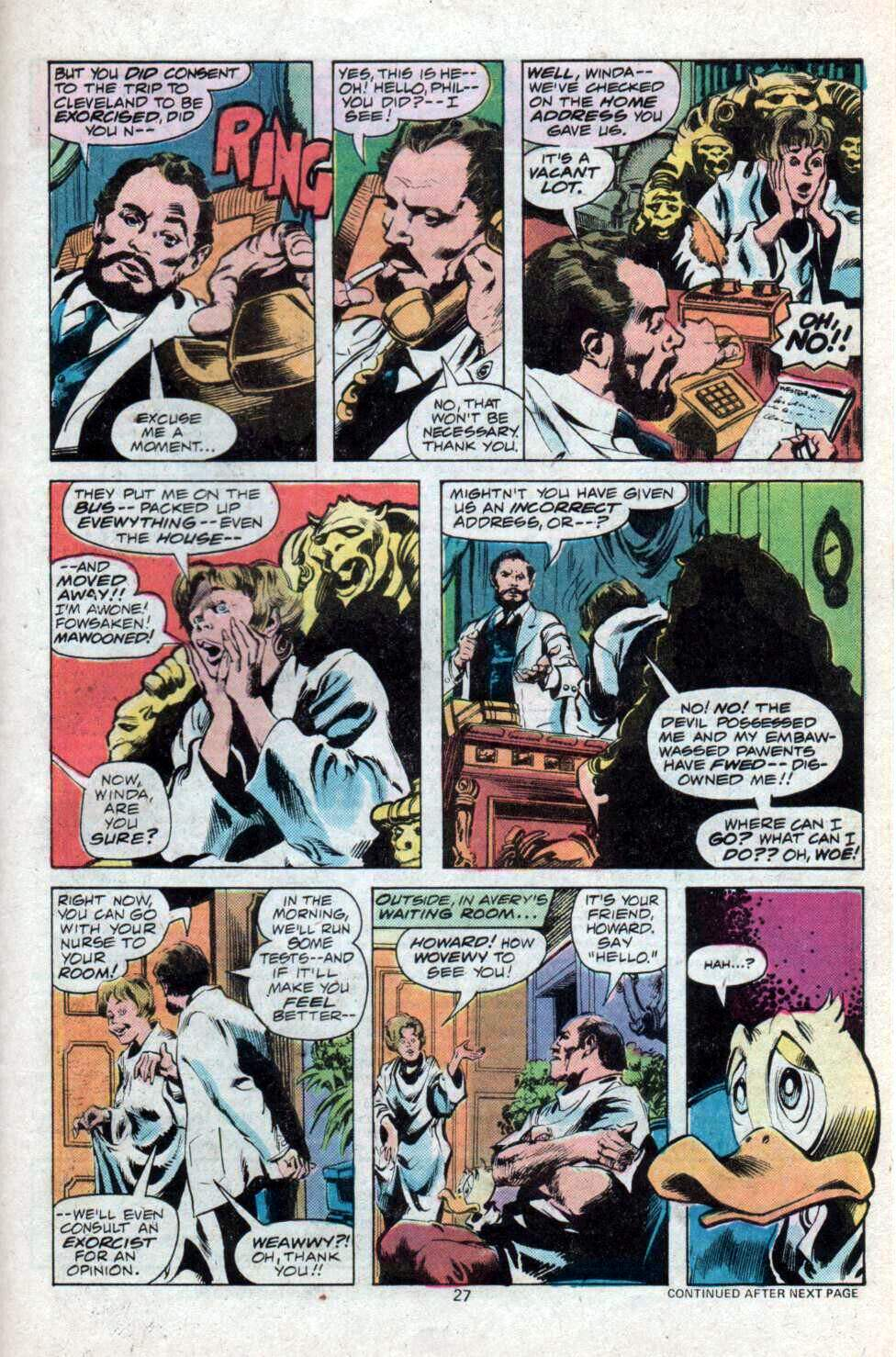 Howard the Duck (1976) Issue #12 #13 - English 16
