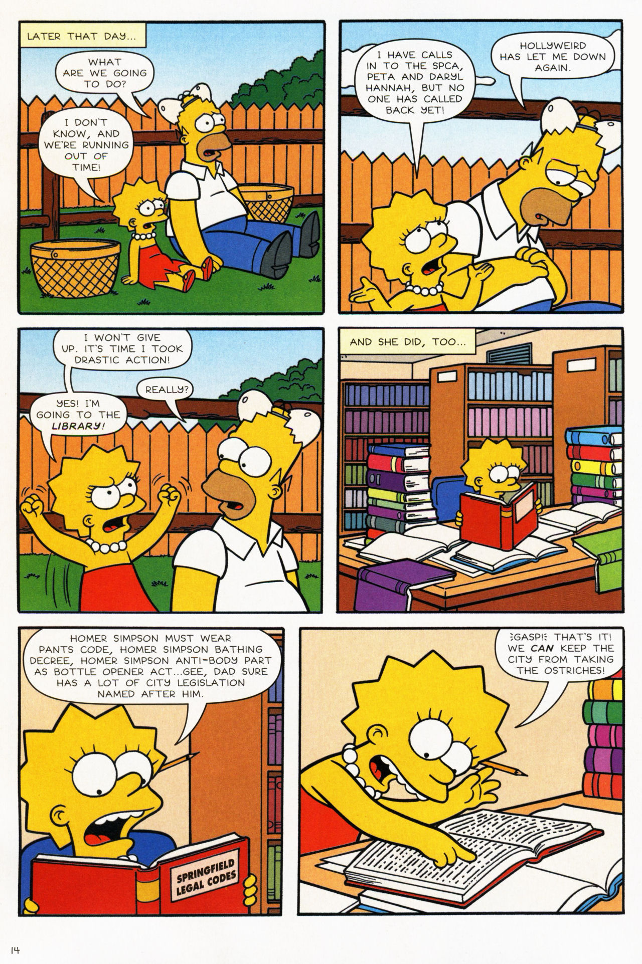 Read online Simpsons Comics comic -  Issue #139 - 14