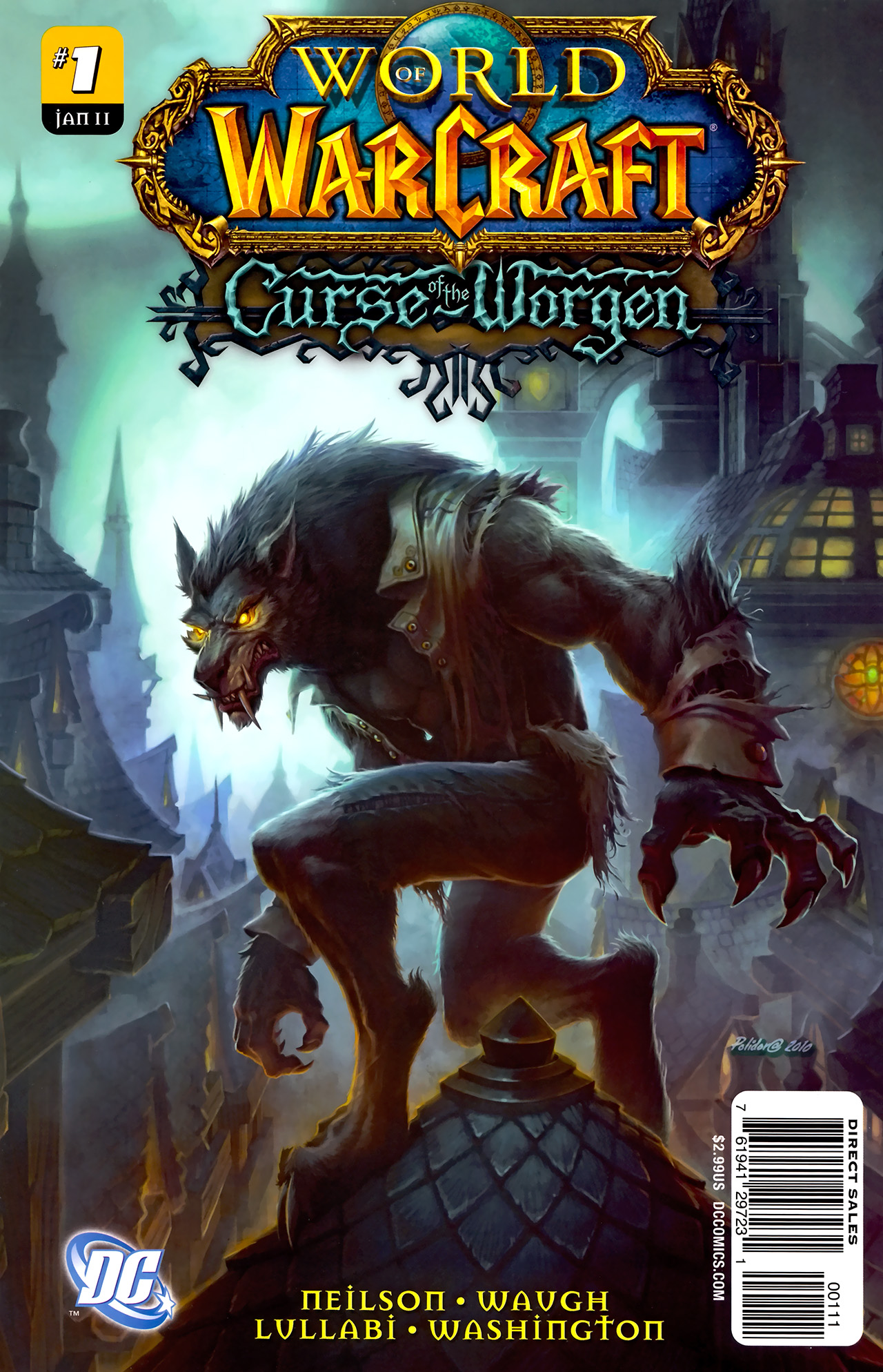 Read online World of Warcraft: Curse of the Worgen comic -  Issue #1 - 1