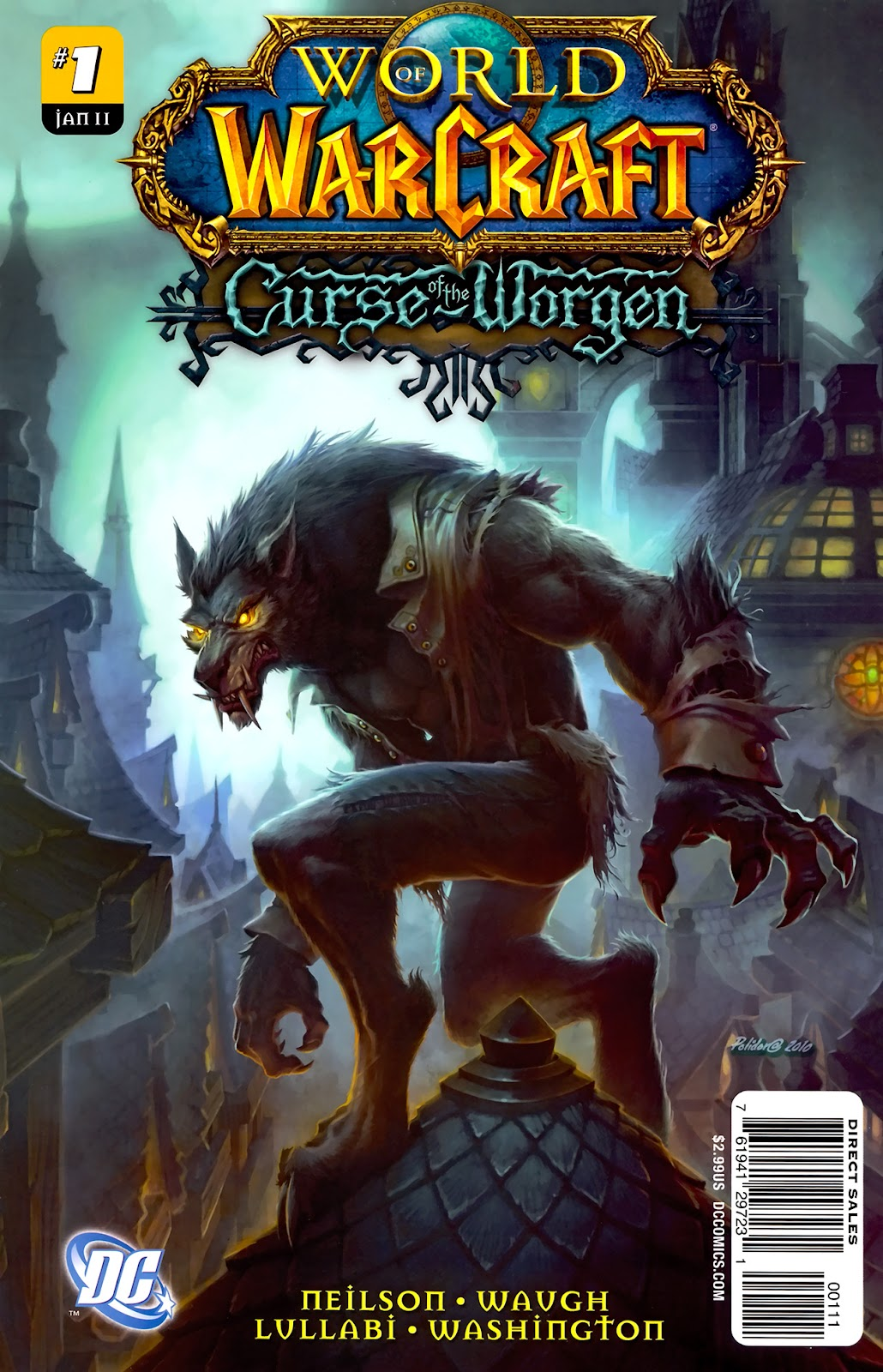 World of Warcraft: Curse of the Worgen issue 1 - Page 1