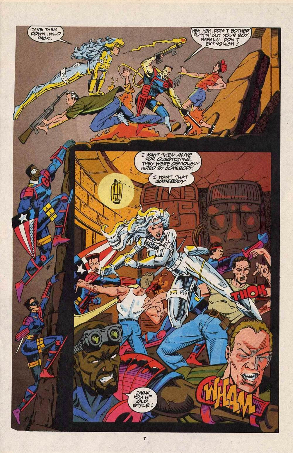 Read online Silver Sable and the Wild Pack comic -  Issue #29 - 7
