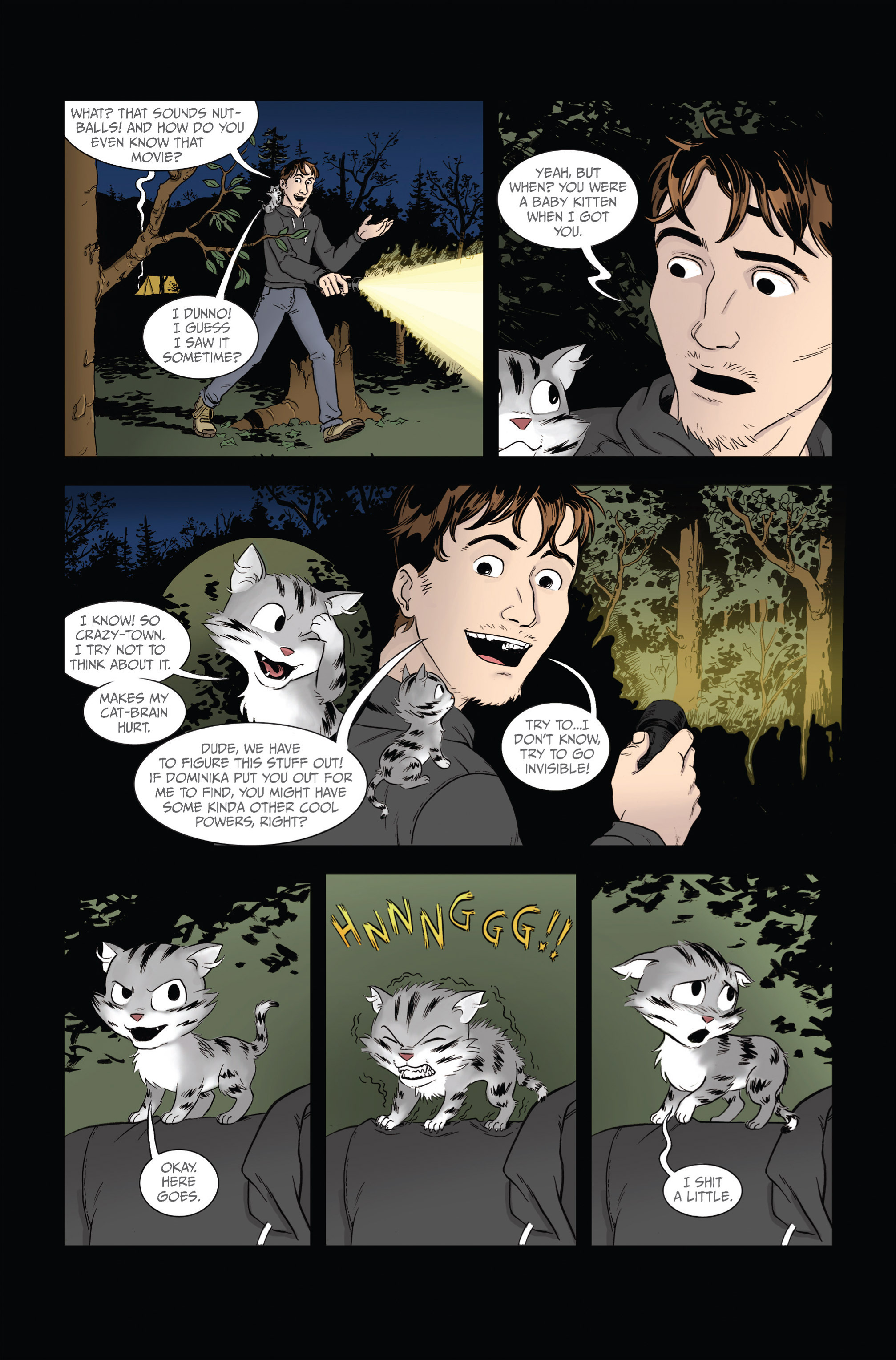 Read online Ehmm Theory: Everything & Small Doses comic -  Issue #2 - 16