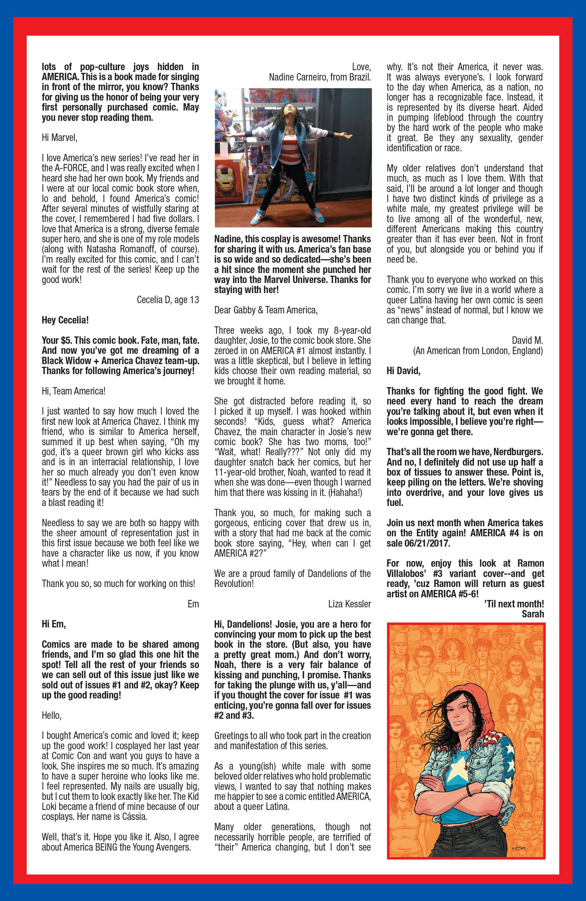 Read online America (2016) comic -  Issue #3 - 22