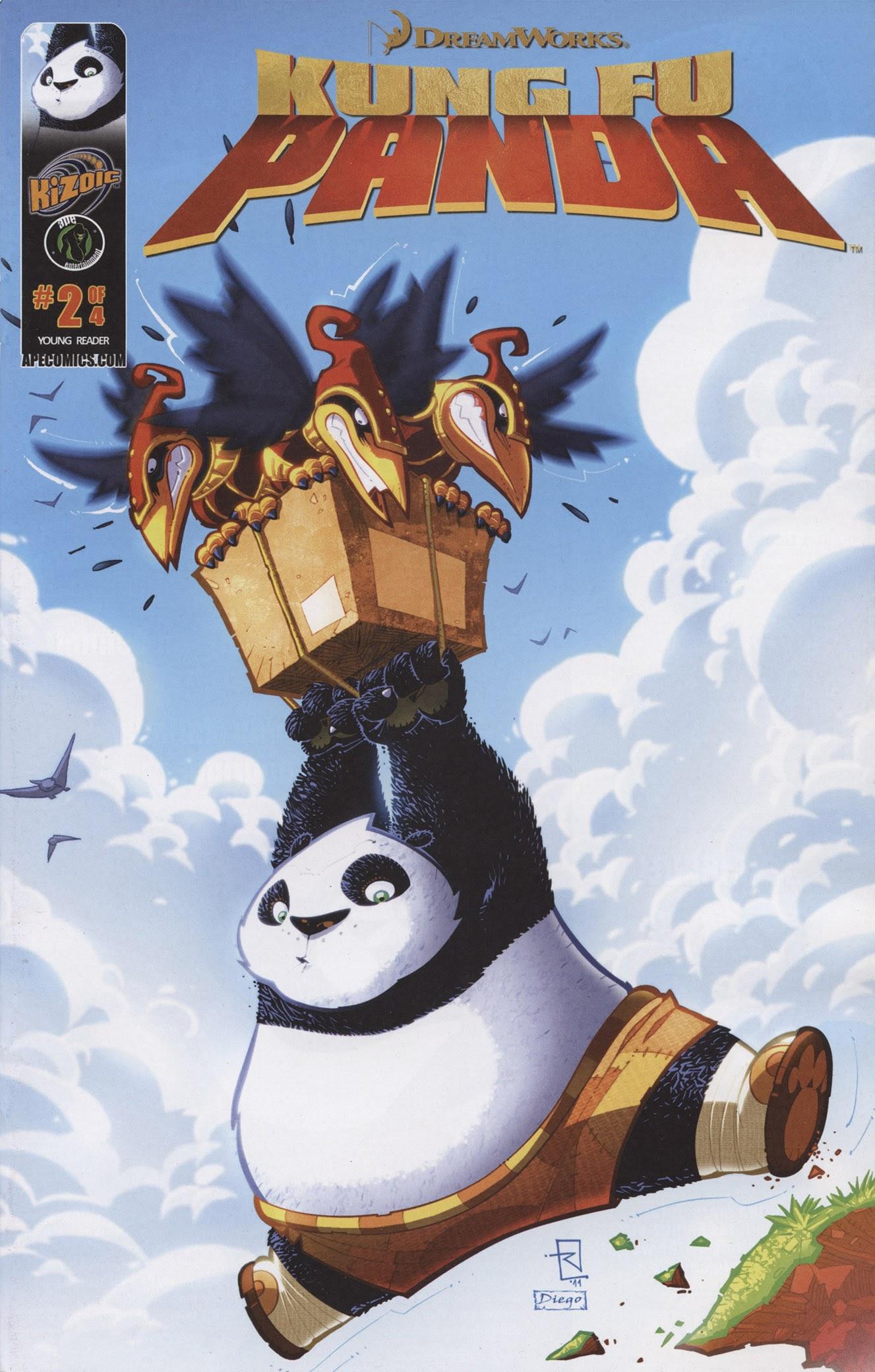 Kung Fu Panda 2 Page 1