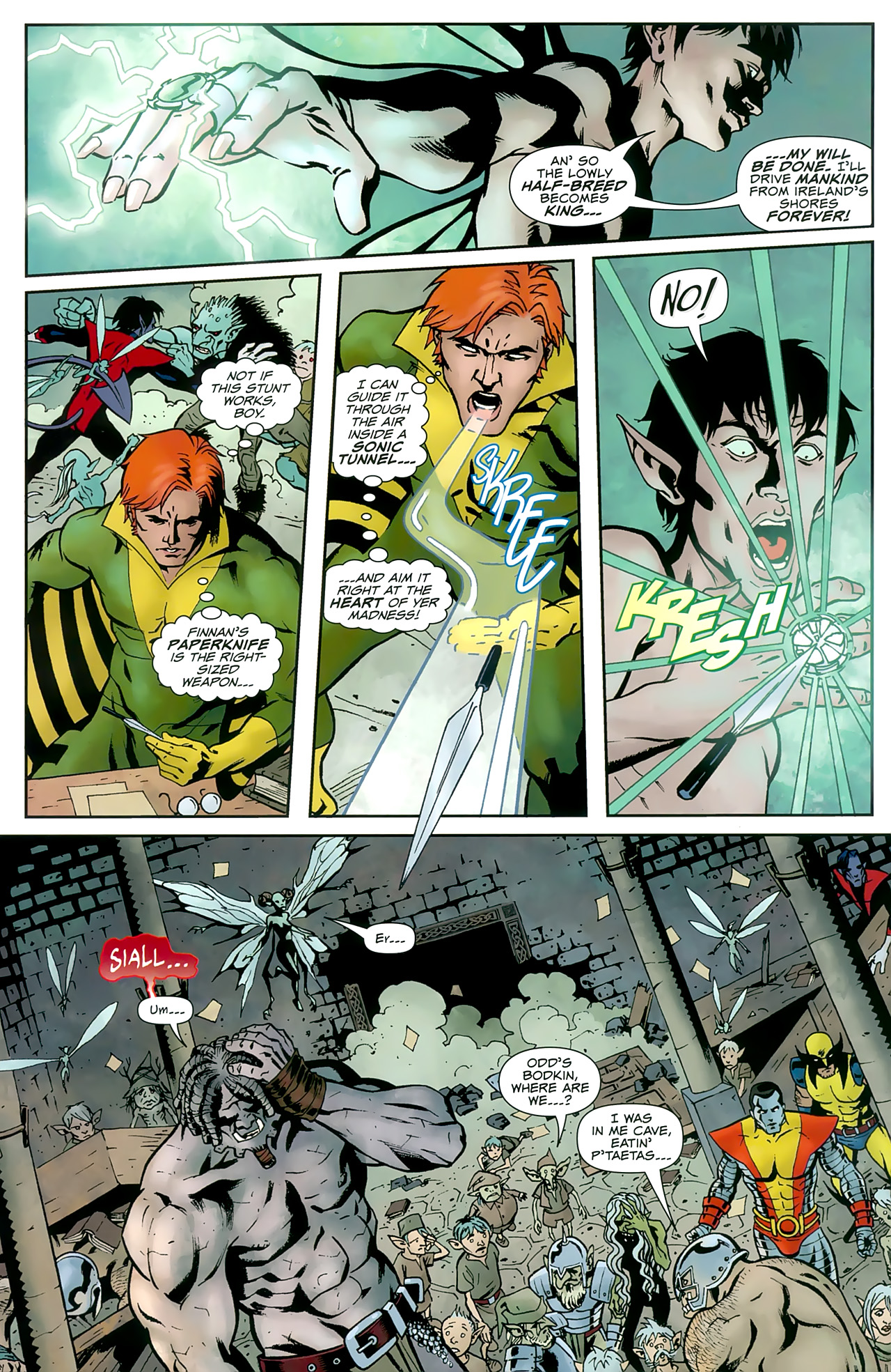 Read online Uncanny X-Men: First Class comic -  Issue #8 - 20