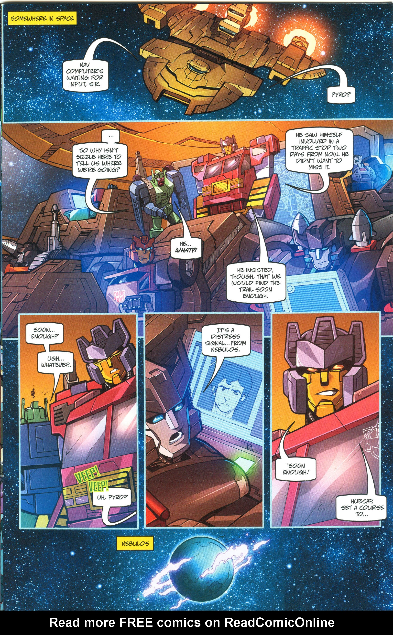 Read online Transformers: Collectors' Club comic -  Issue #45 - 7