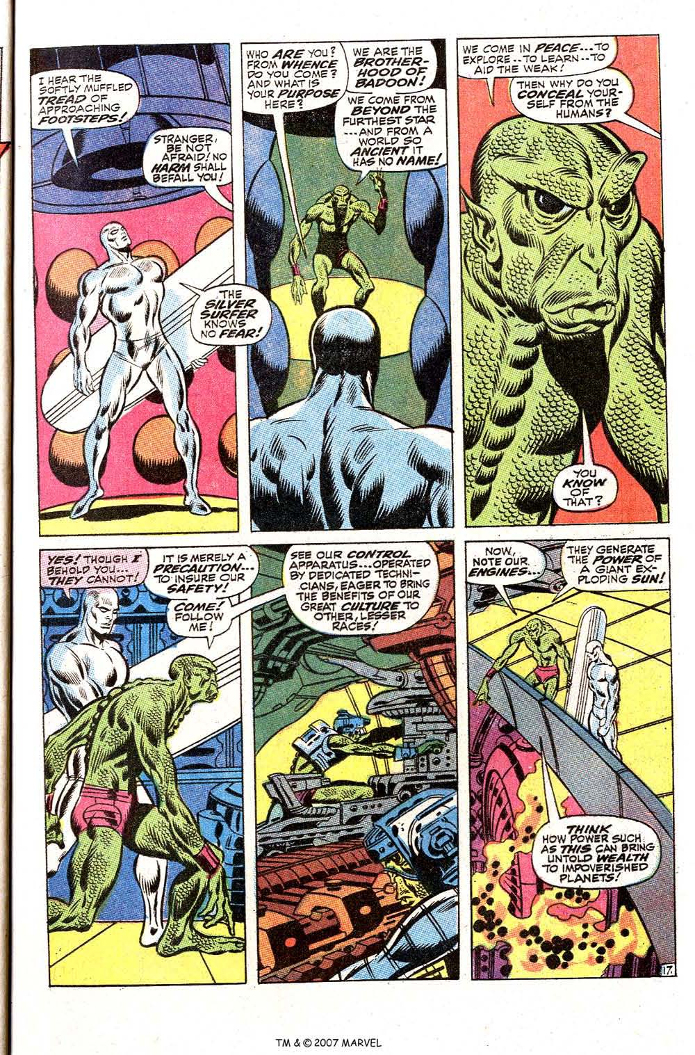 Read online Silver Surfer (1968) comic -  Issue #2 - 23