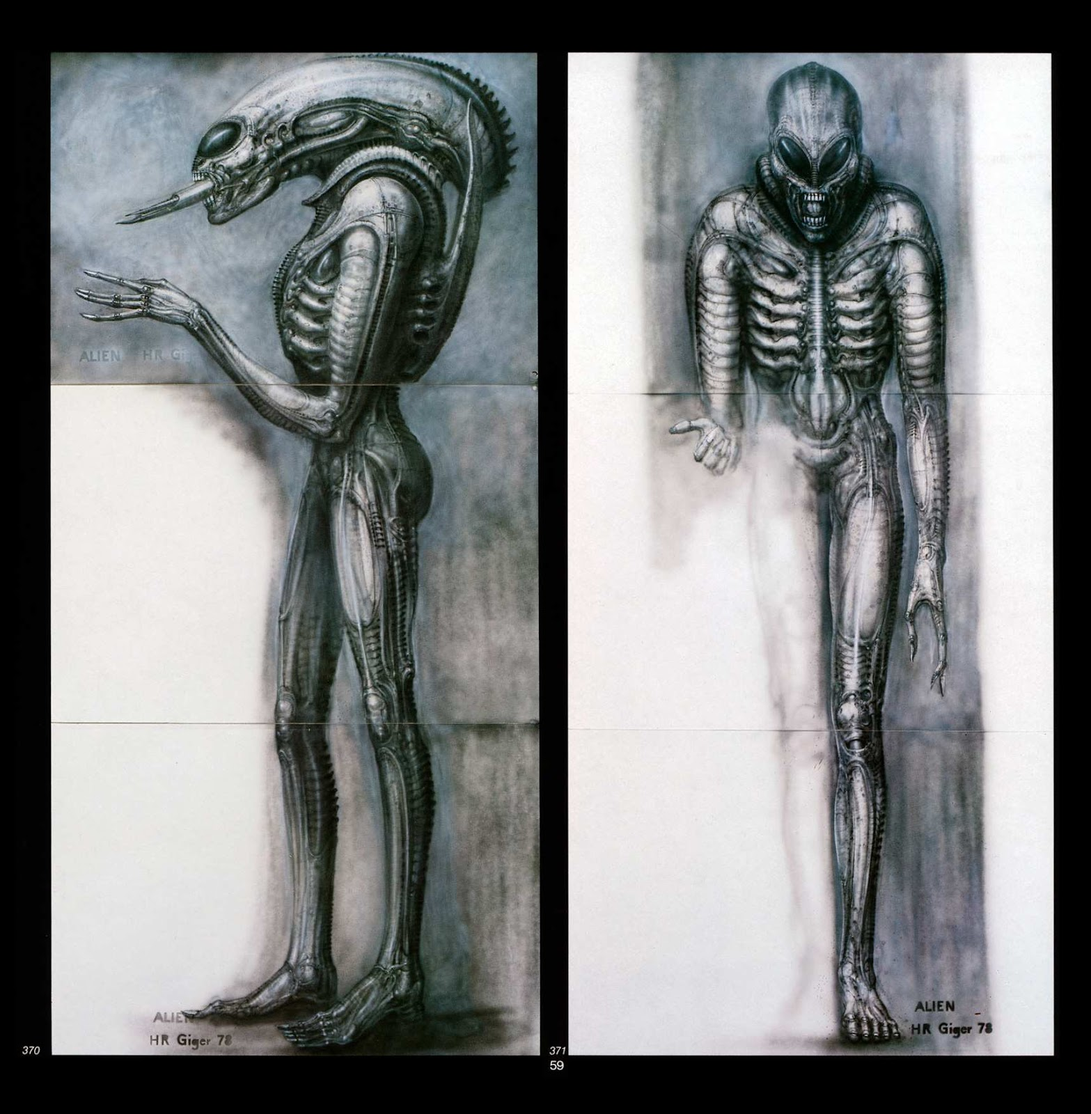Read online Giger's Alien comic -  Issue # TPB - 61