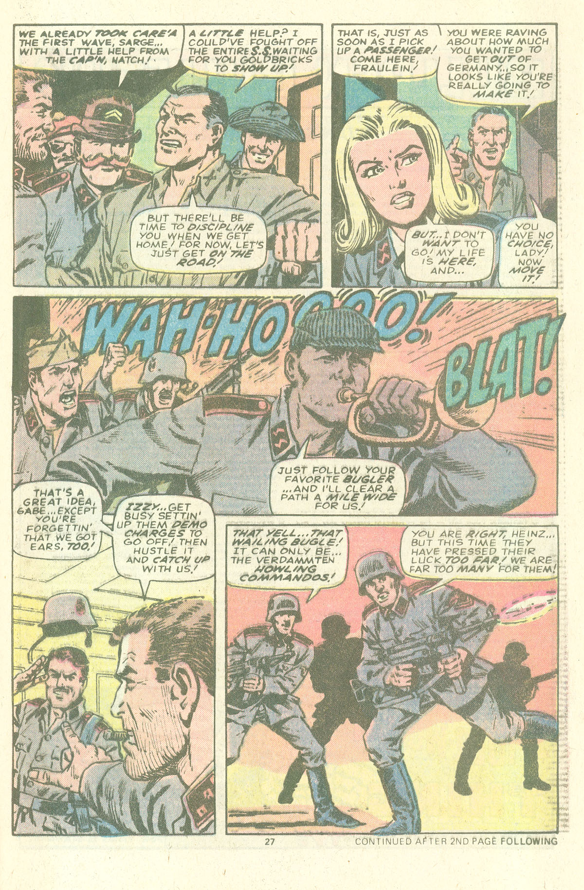 Read online Sgt. Fury comic -  Issue #157 - 29