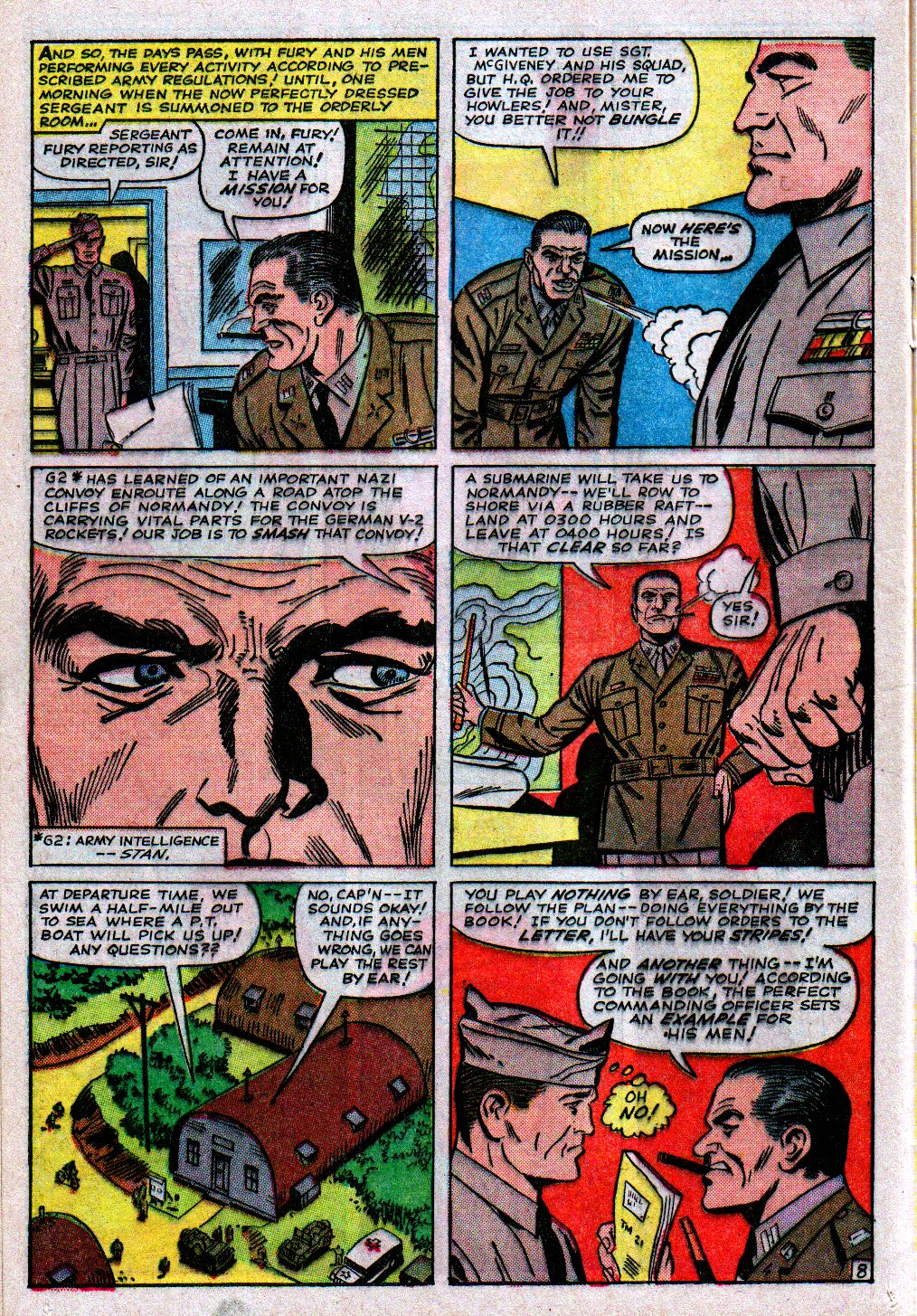 Read online Sgt. Fury comic -  Issue #11 - 12