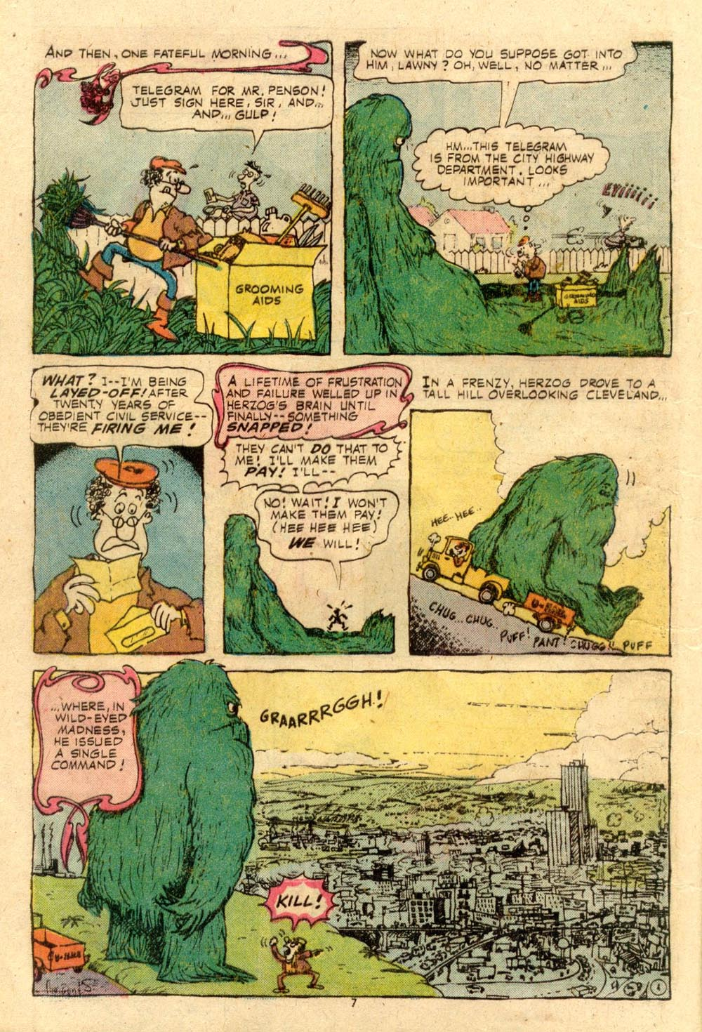 Read online Plop! comic -  Issue #7 - 8