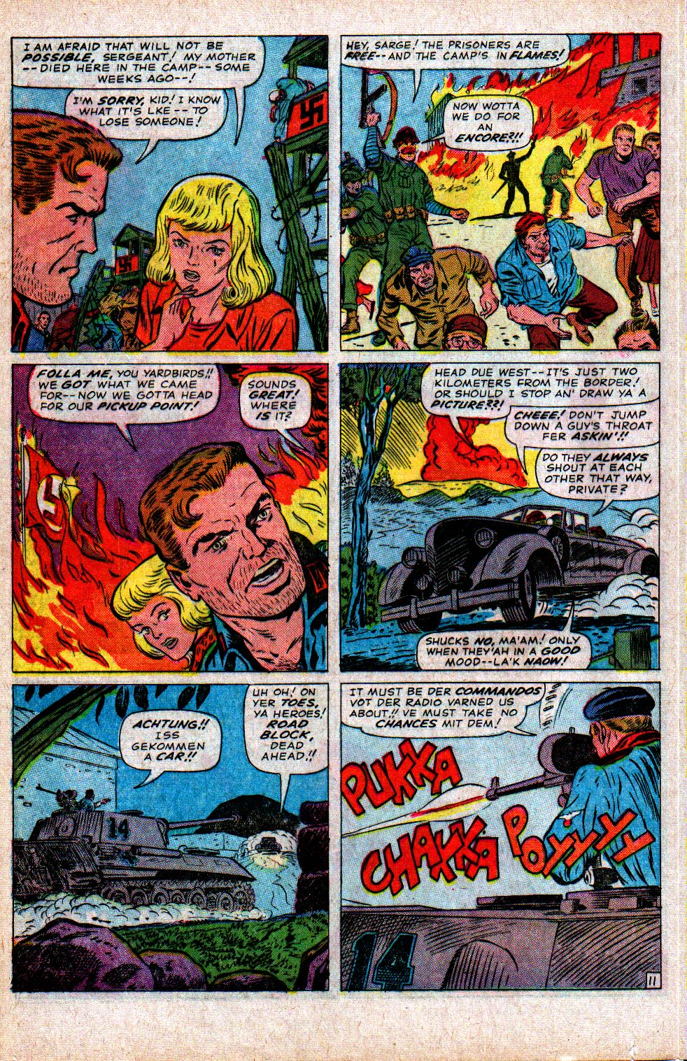 Read online Sgt. Fury comic -  Issue #21 - 16