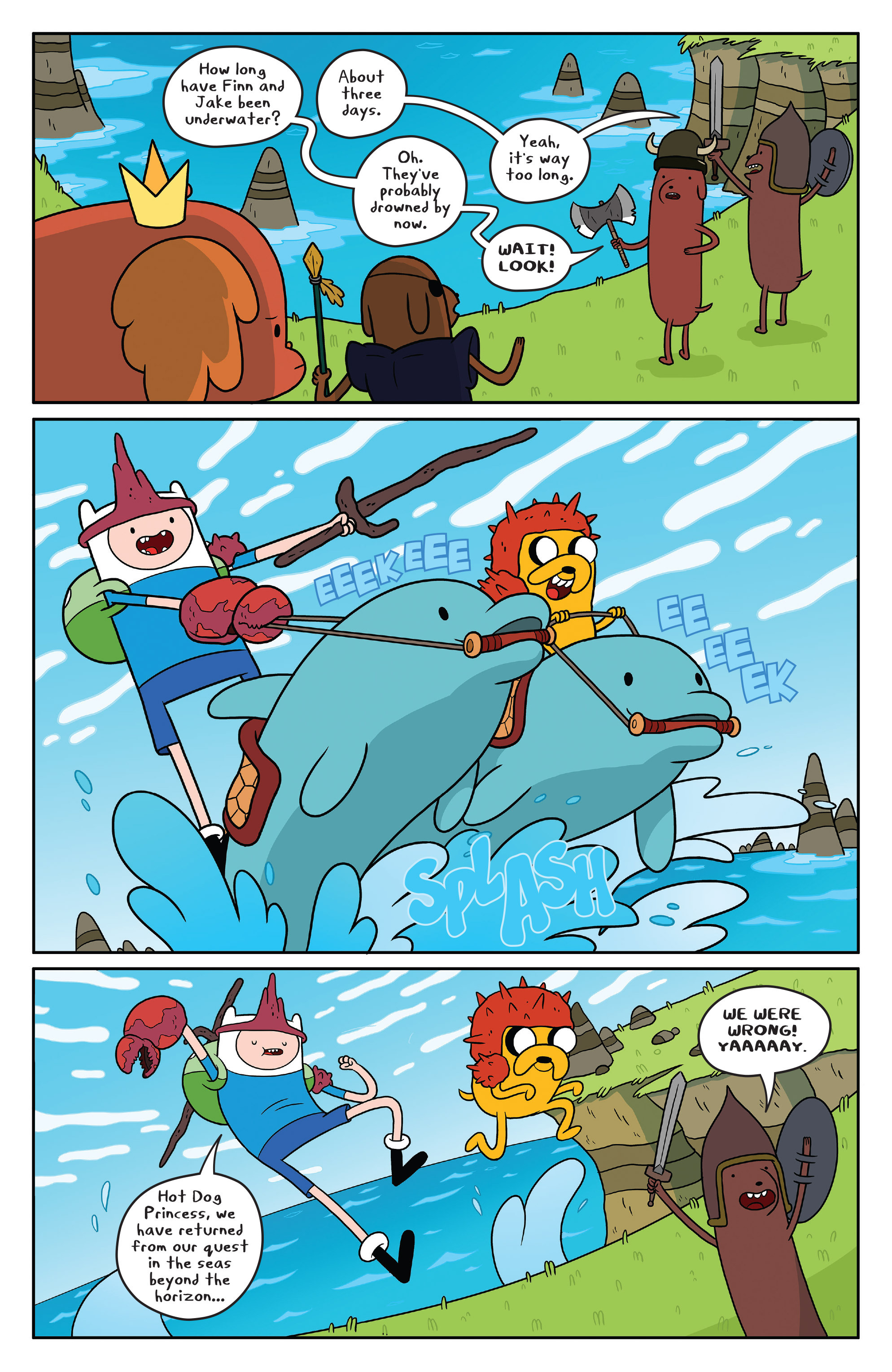 Read online Adventure Time comic -  Issue #51 - 3