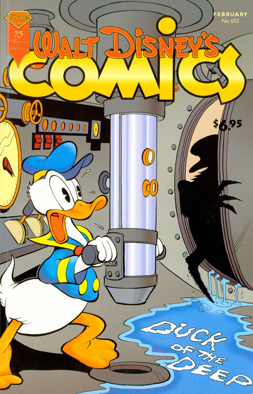 Walt Disney's Comics and Stories issue 653 - Page 1