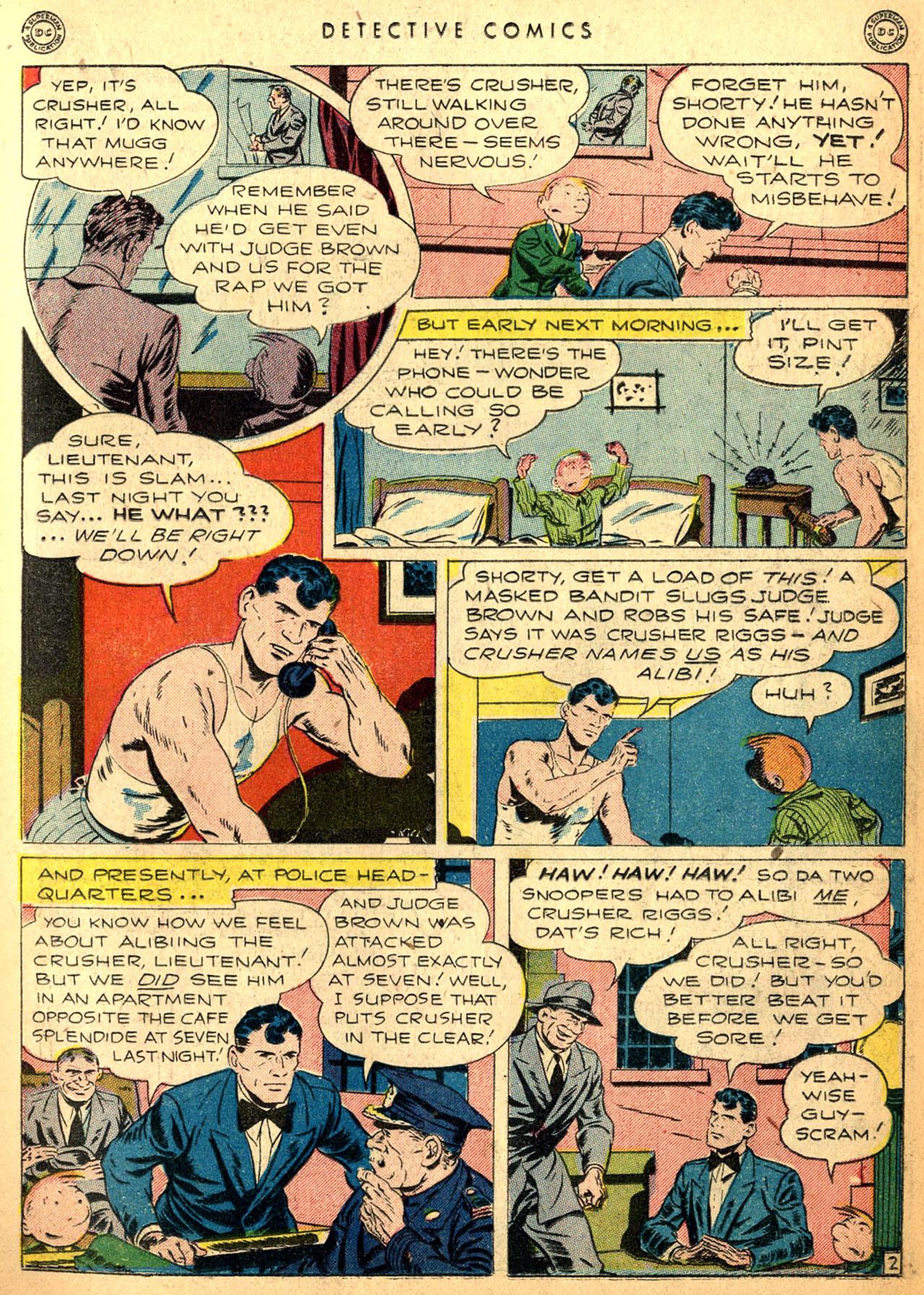 Read online Detective Comics (1937) comic -  Issue #98 - 17