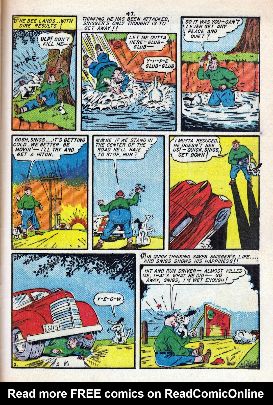 Read online Comedy Comics (1942) comic -  Issue #11 - 49