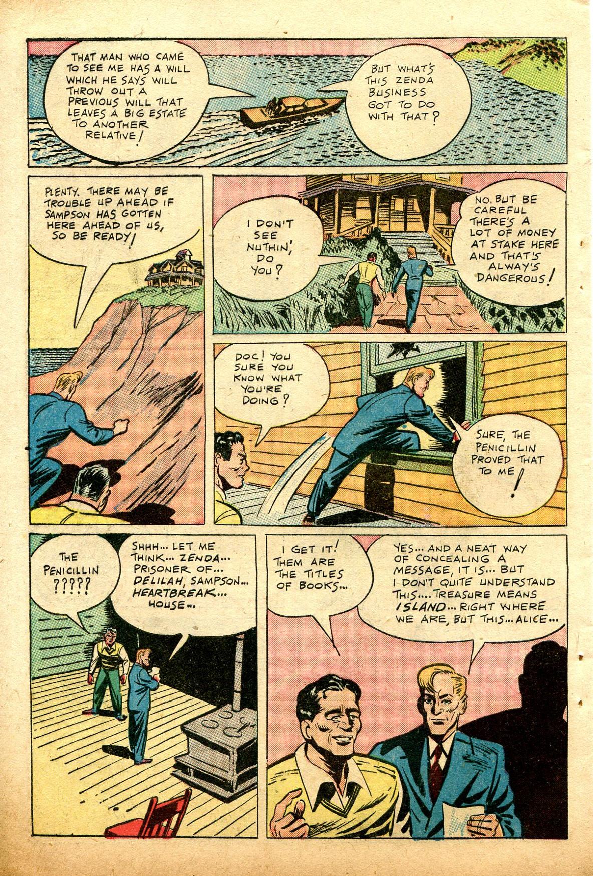 Read online Shadow Comics comic -  Issue #74 - 40
