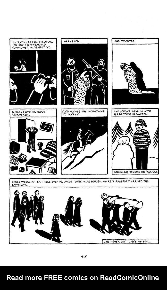 Persepolis Tpb 1 Read Persepolis Issue Tpb 1 Page 128