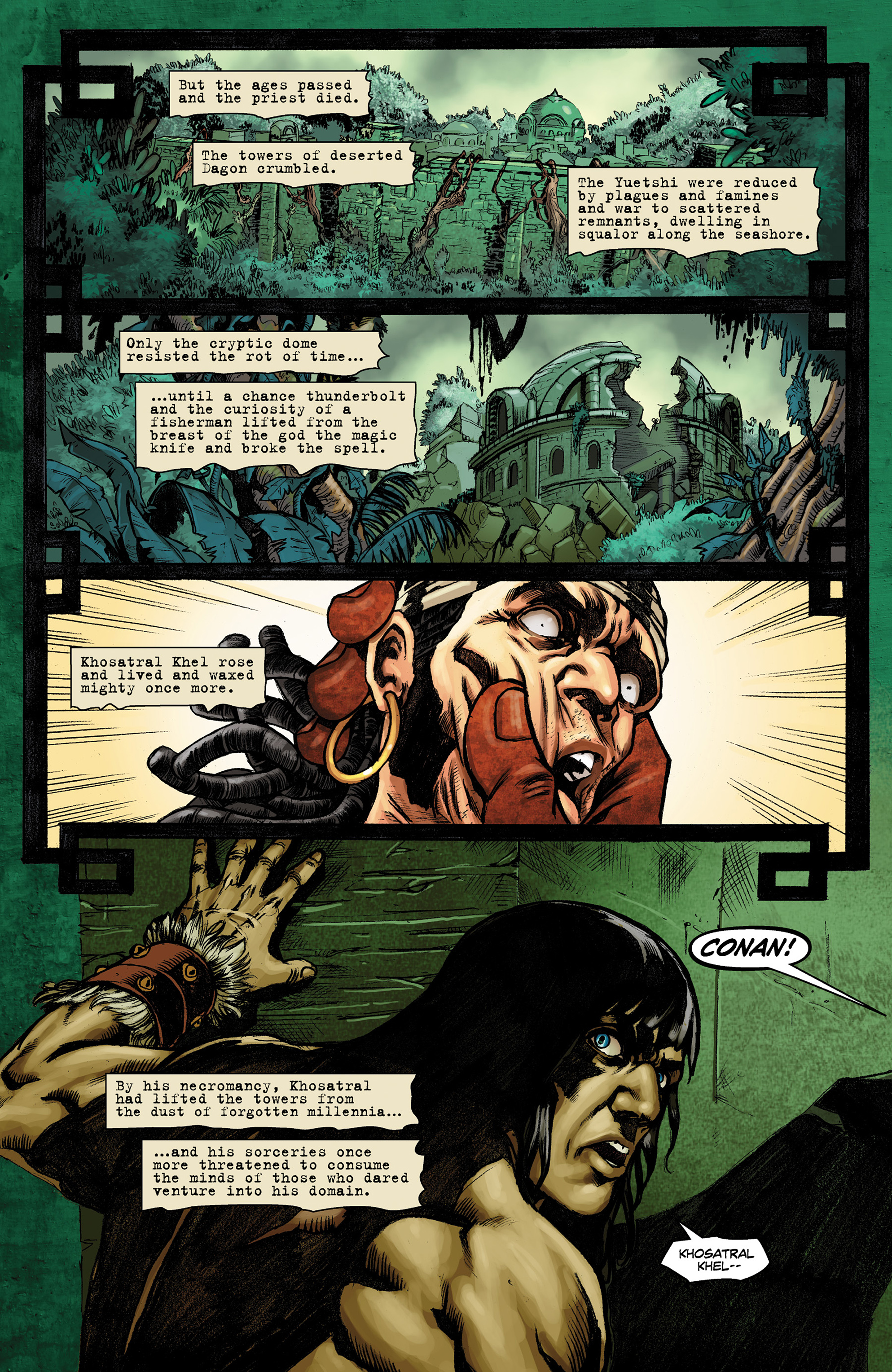 Read online Conan The Slayer comic -  Issue #9 - 19