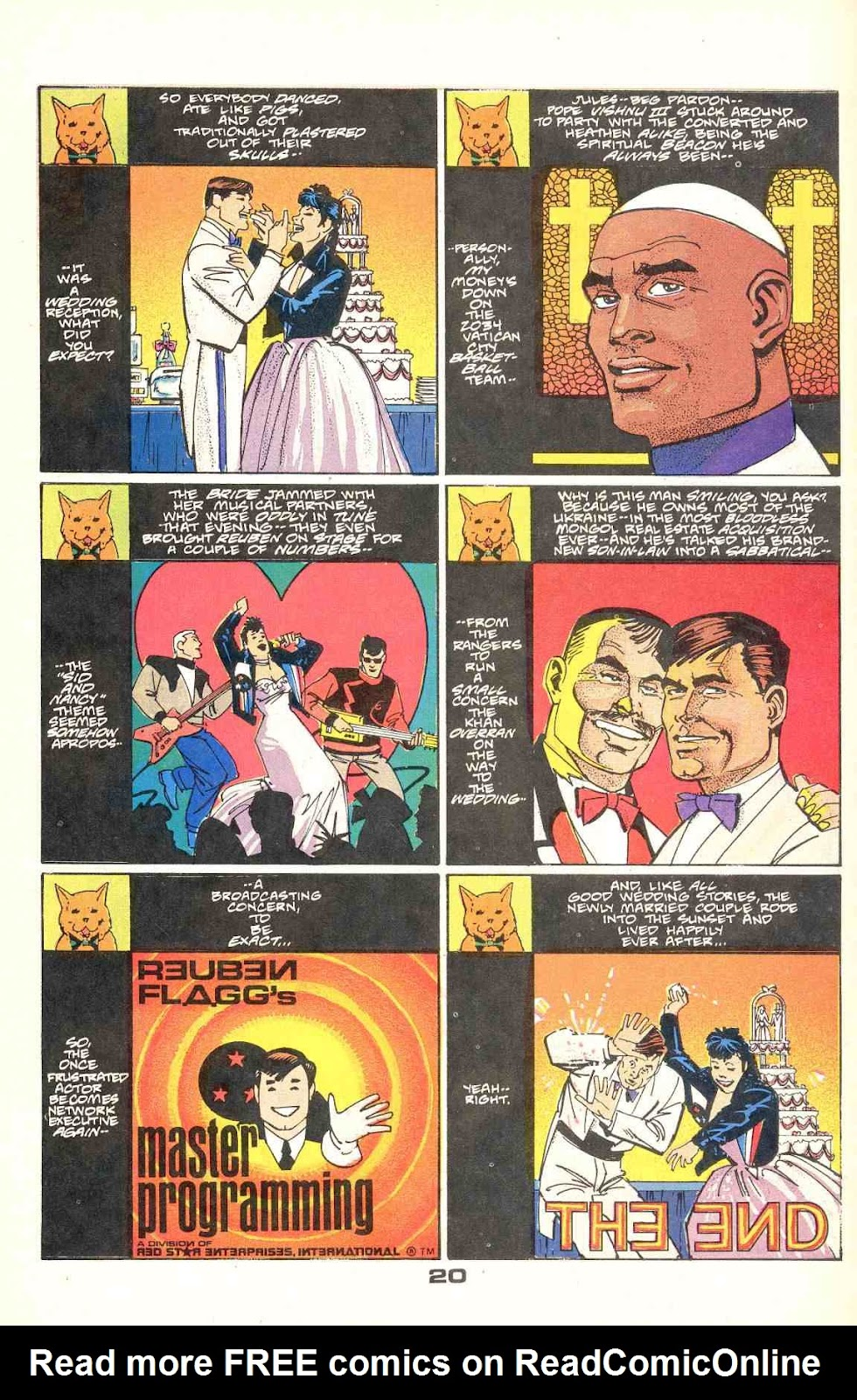 Howard Chaykin's American Flagg issue 12 - Page 26