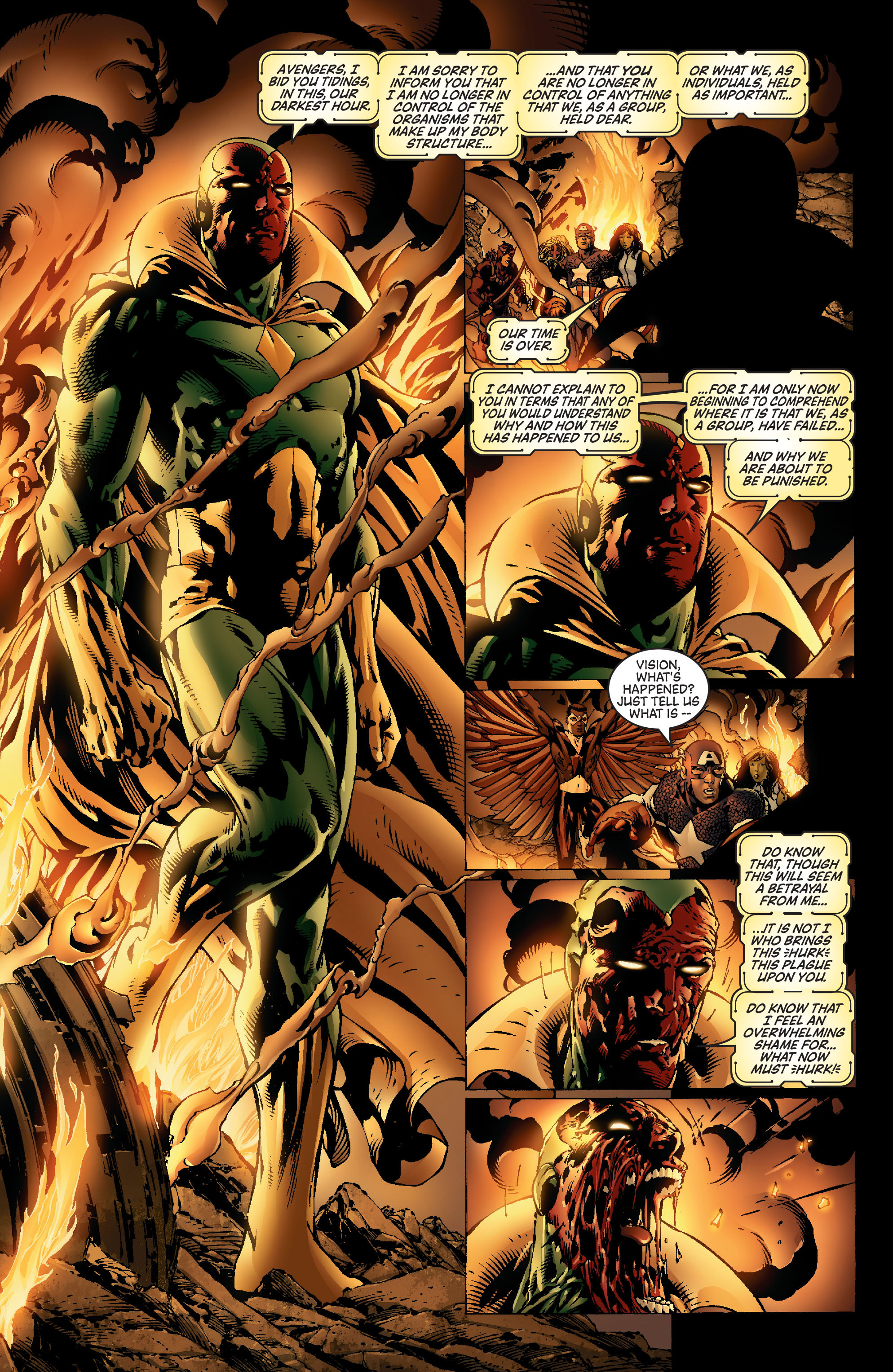Read online Avengers (1998) comic -  Issue #500 - 19