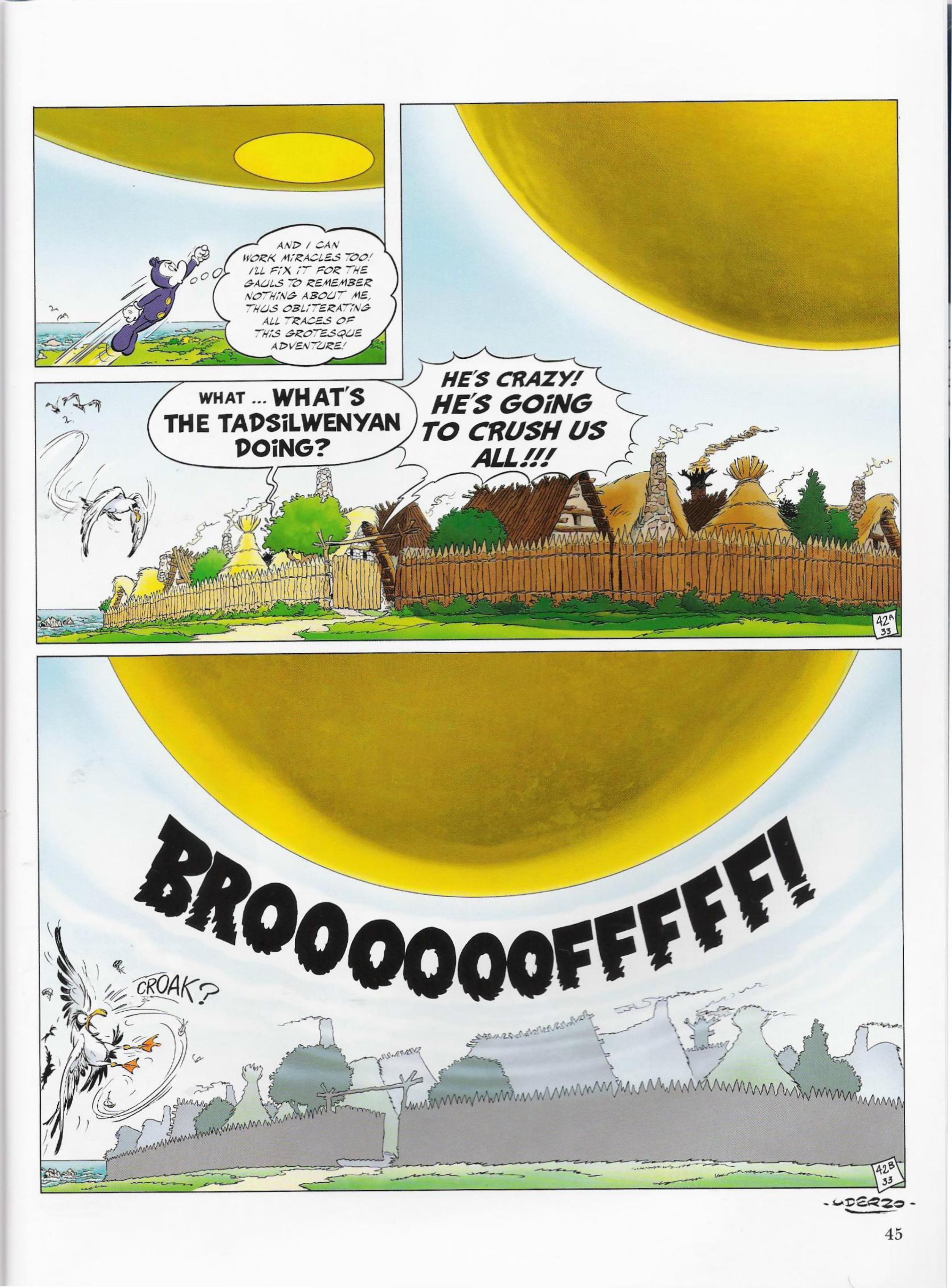 Read online Asterix comic -  Issue #33 - 45