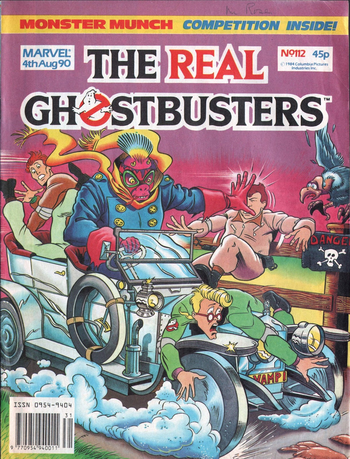 The Real Ghostbusters 112 Page 1