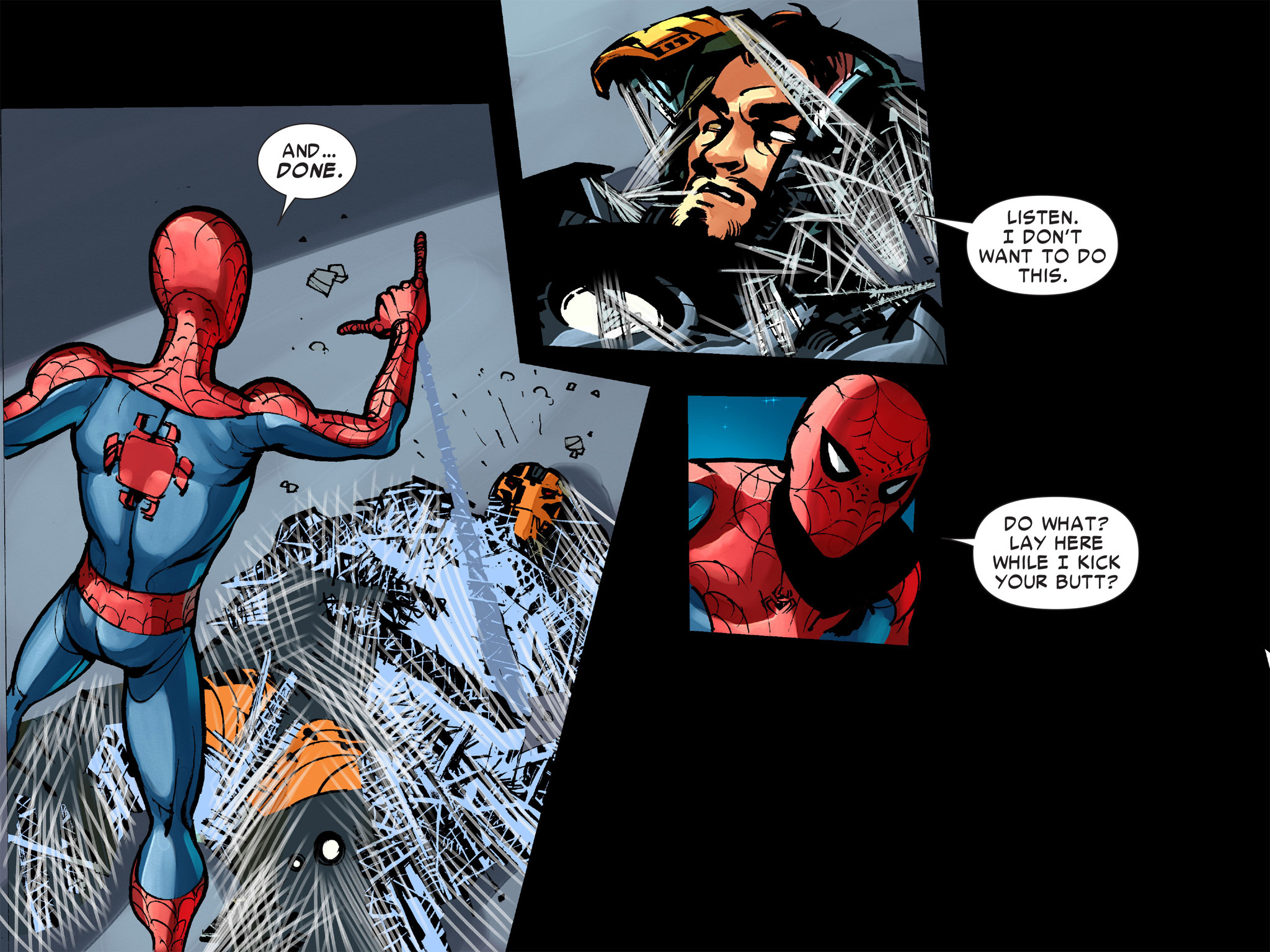 Read online Amazing Spider-Man: Who Am I? comic -  Issue # Full (Part 1) - 150